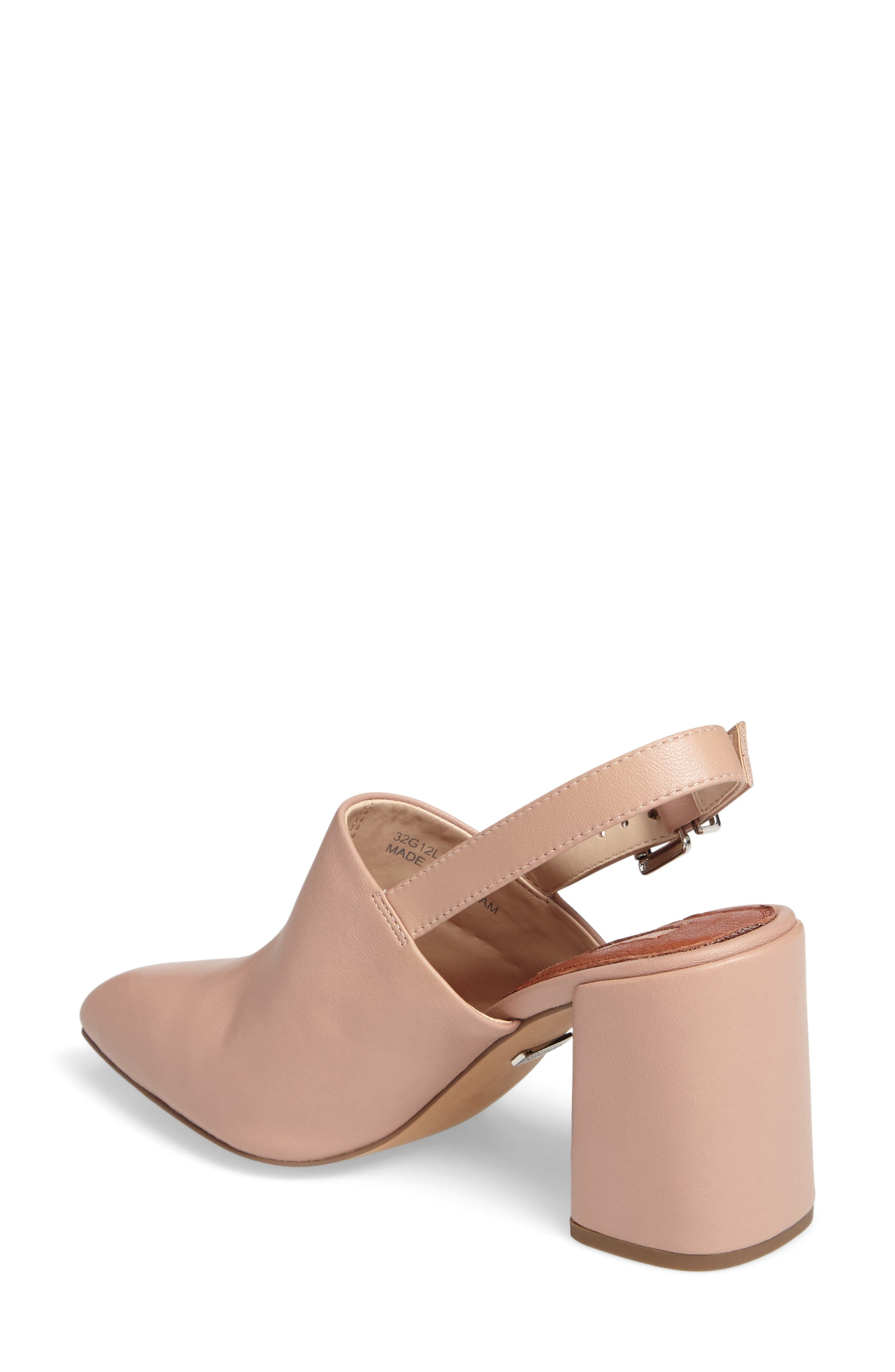 Alternate Image 2  - Topshop Groove Block Heel Pump (Women)