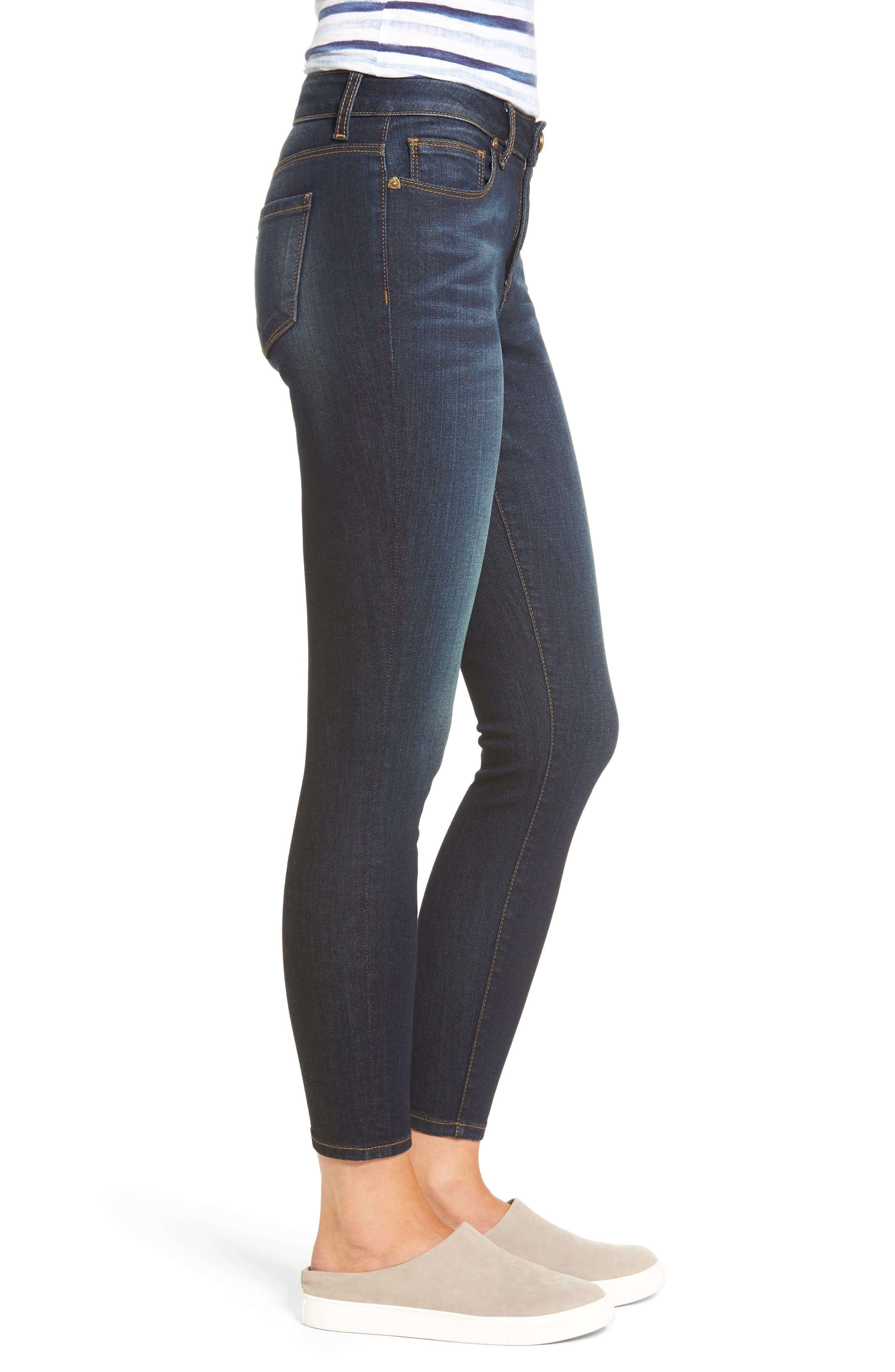 Alternate Image 3  - KUT from the Kloth Kurvy Ankle Skinny Jeans (Blinding)