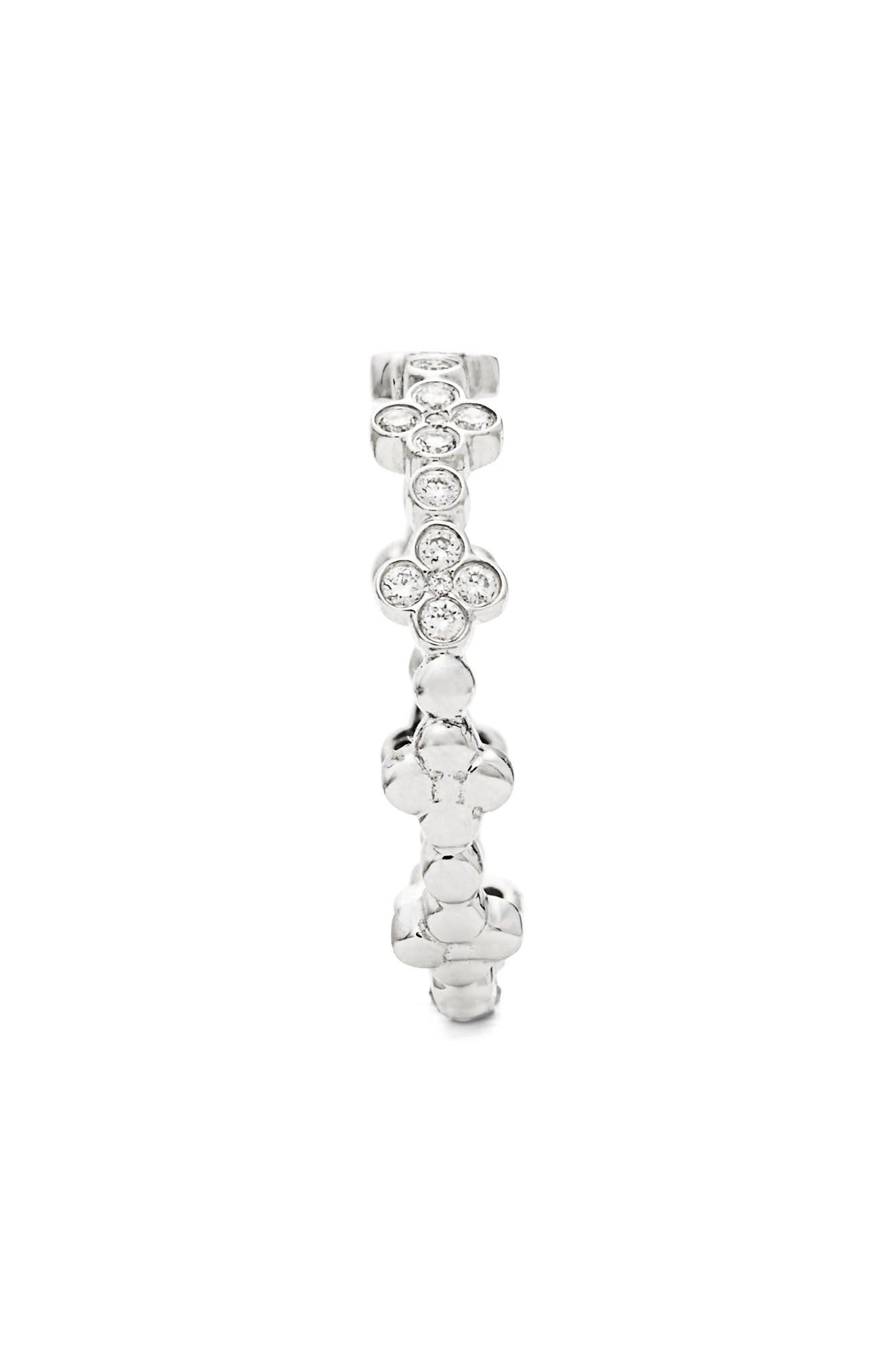 Alternate Image 2  - Bony Levy Stackable Diamond Clover Ring (Nordstrom Exclusive)