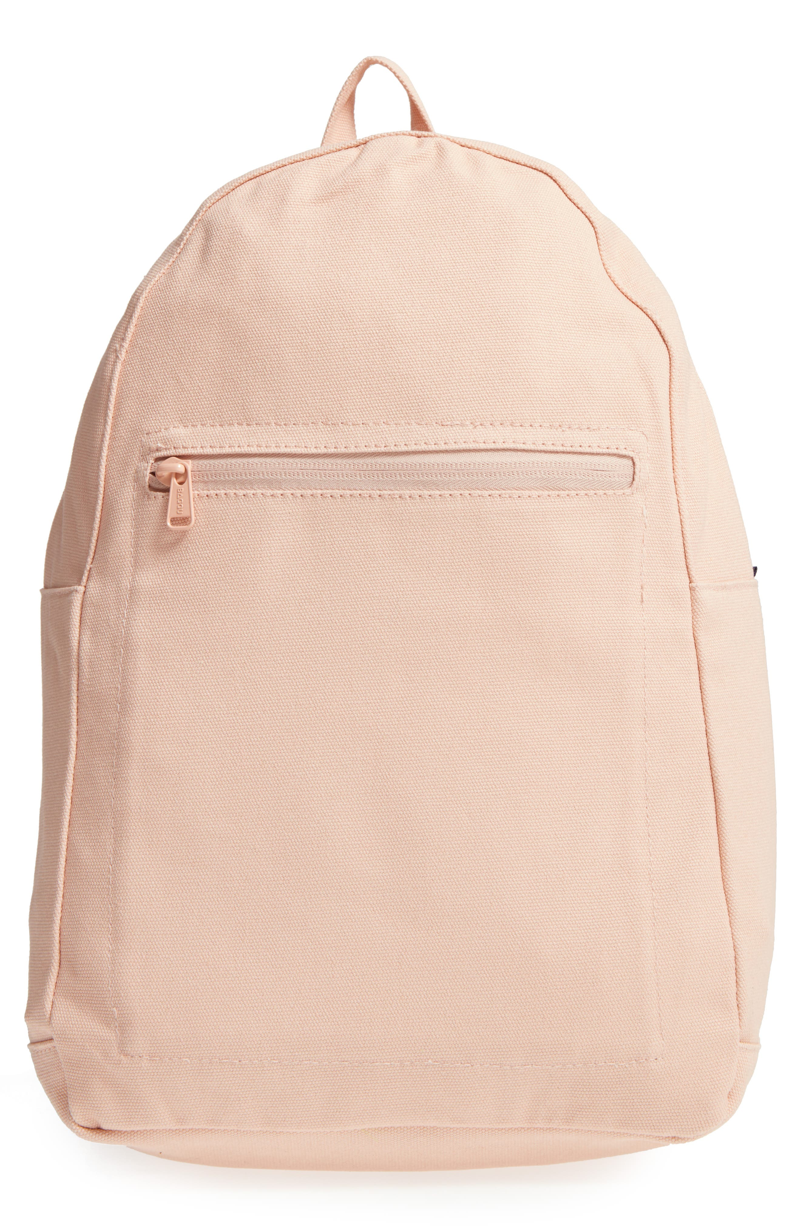 Canvas Backpack,                         Main,                         color, Shell