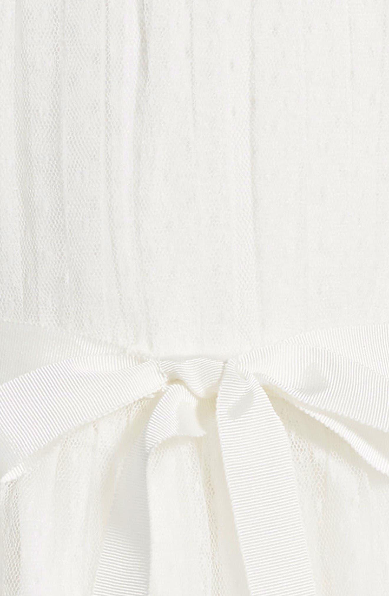 Alternate Image 3  - Us Angels Point d'Esprit Dress (Toddler Girls, Little Girls & Big Girls)