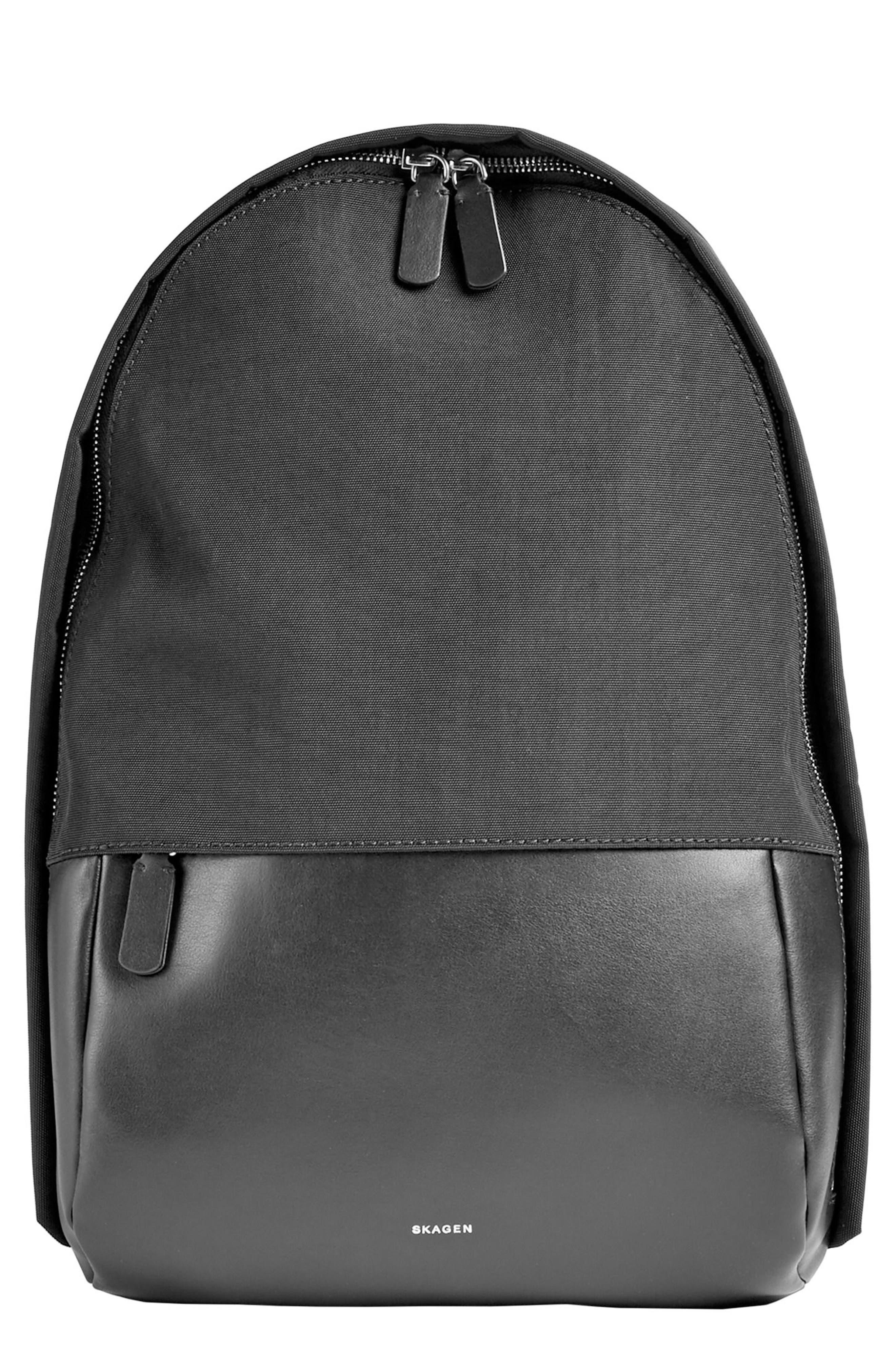 Krøyer Sling Backpack,                         Main,                         color, Black