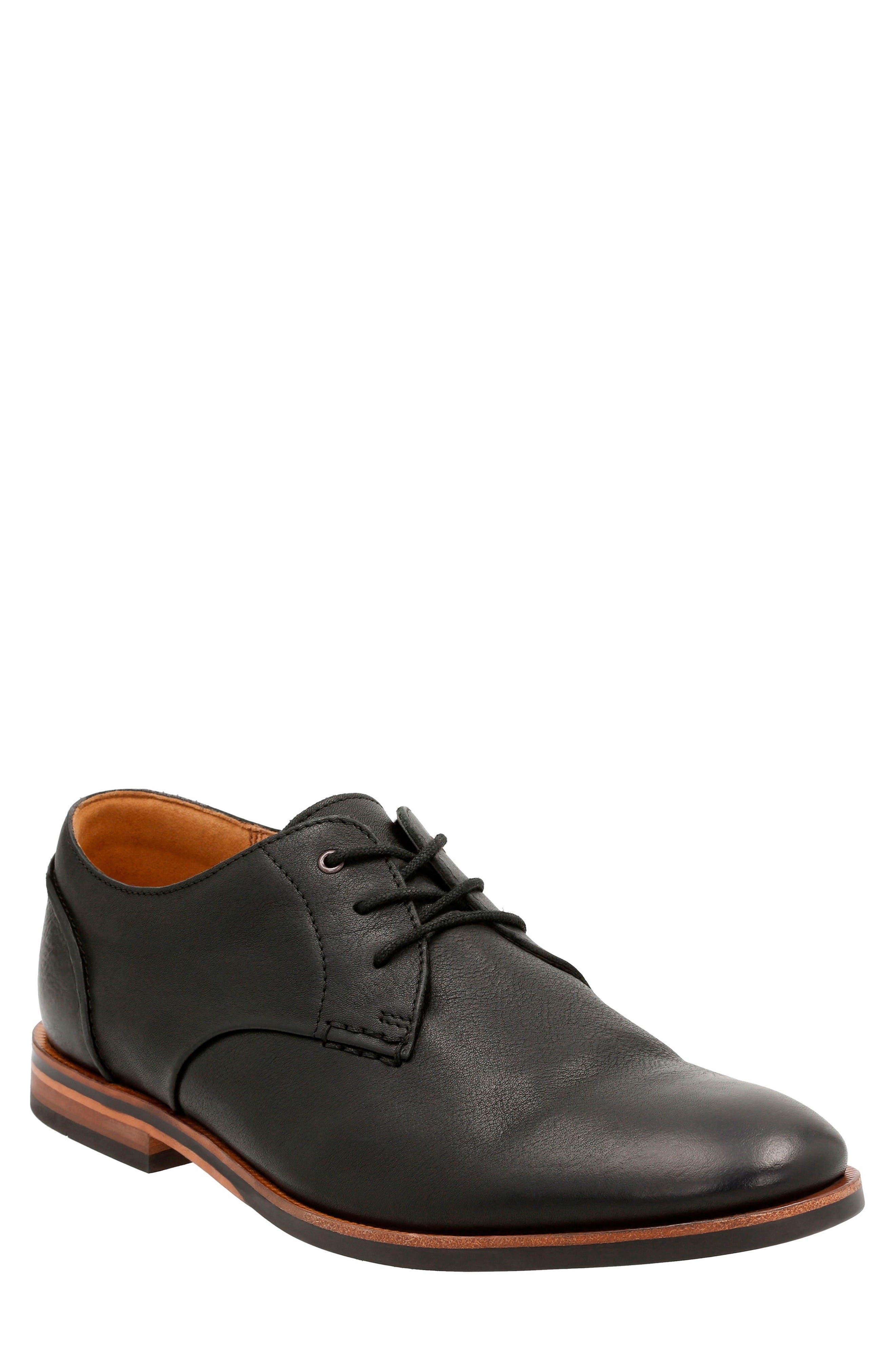 Clarks® Broyd Walk Plain Toe Derby (Men)