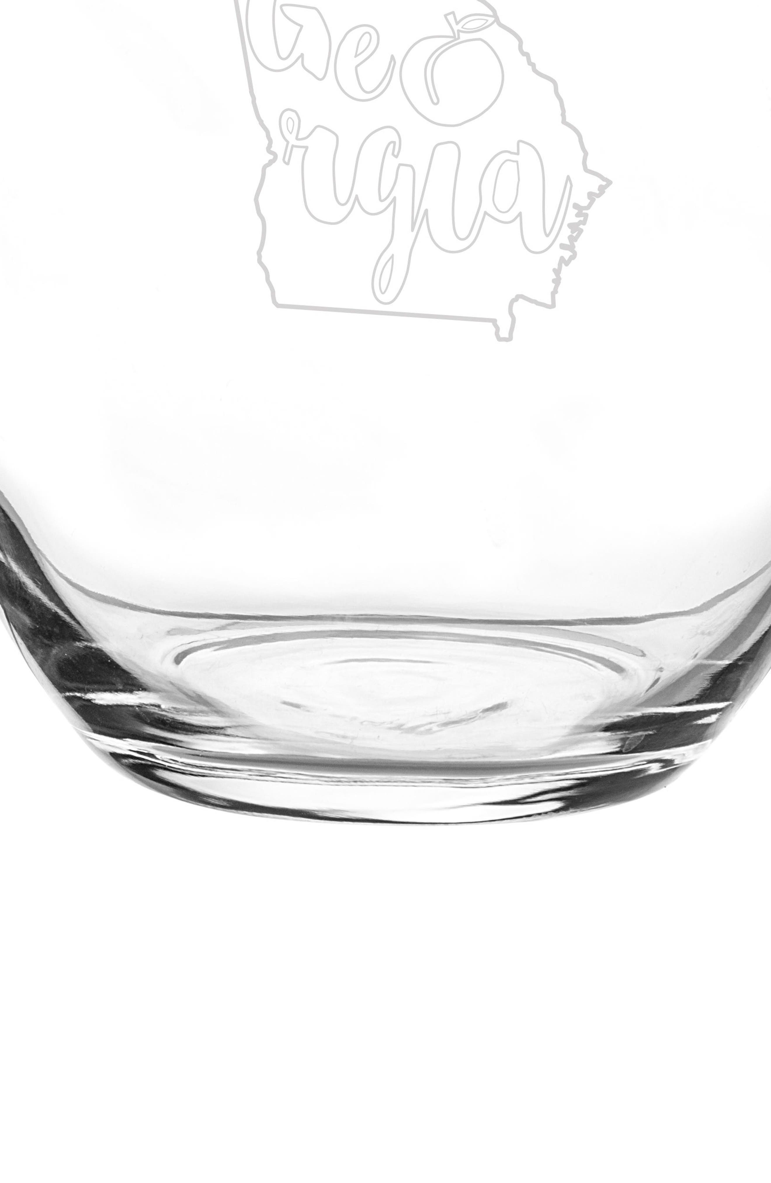 Alternate Image 4  - Cathy's Concepts State Set of 4 Stemless Wine Glasses