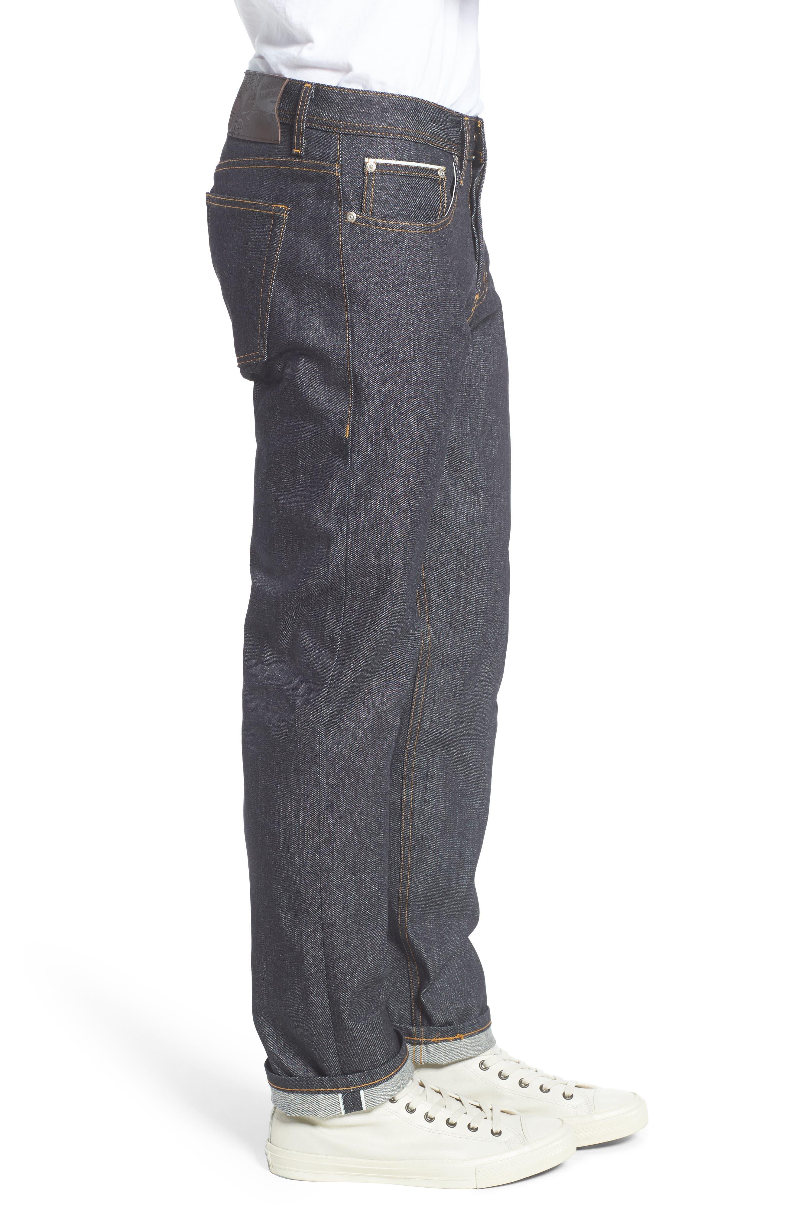 Alternate Image 3  - Naked & Famous Denim Weird Guy Slim Fit Jeans (Left Hand Twill Selvedge)