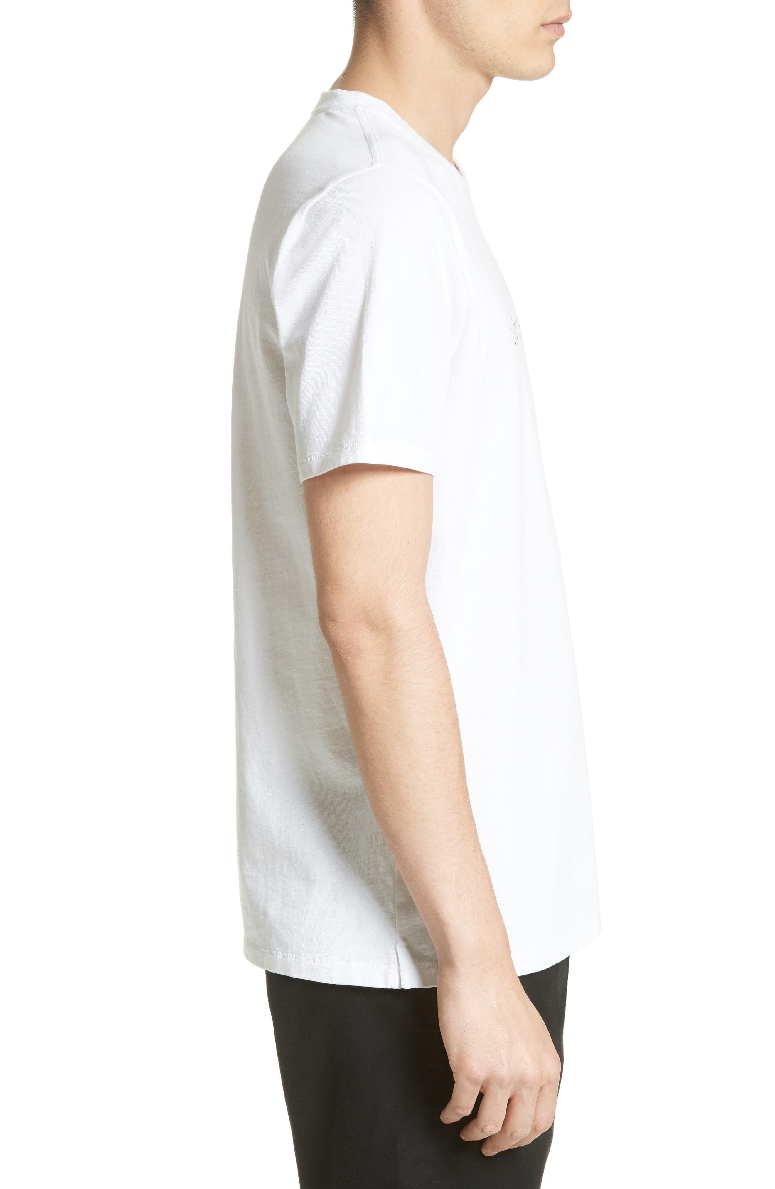 Alternate Image 3  - rag & bone Glitch Logo T-Shirt