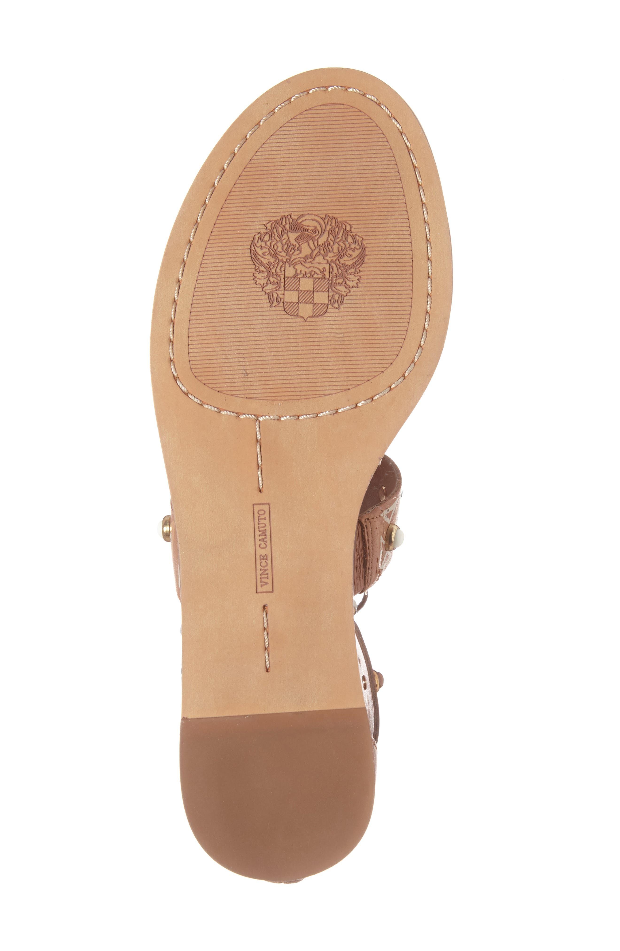 Alternate Image 5  - Vince Camuto Shandon Gladiator Sandal (Women)