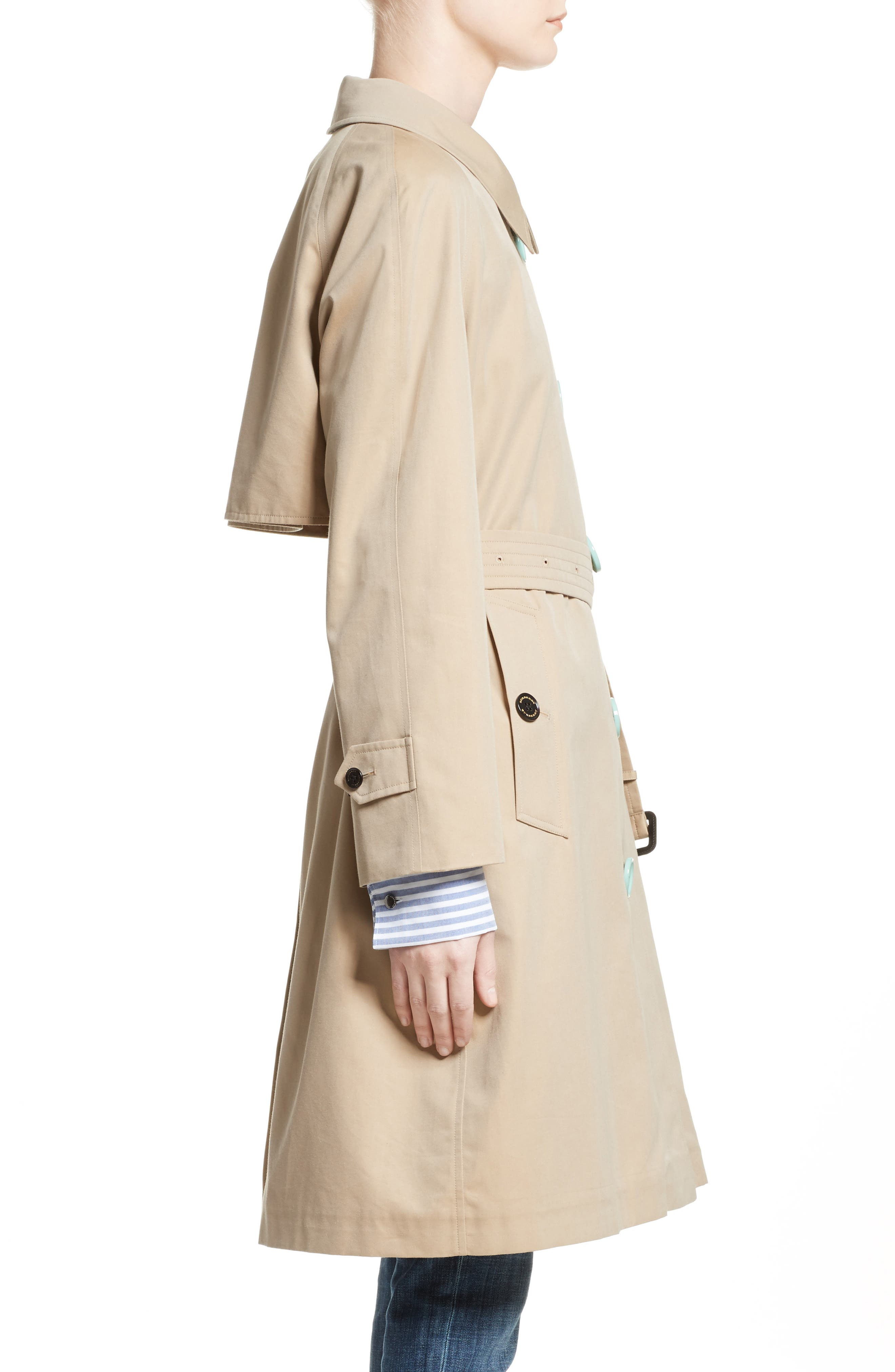 Brinkhill Trench Coat,                             Alternate thumbnail 6, color,                             Honey