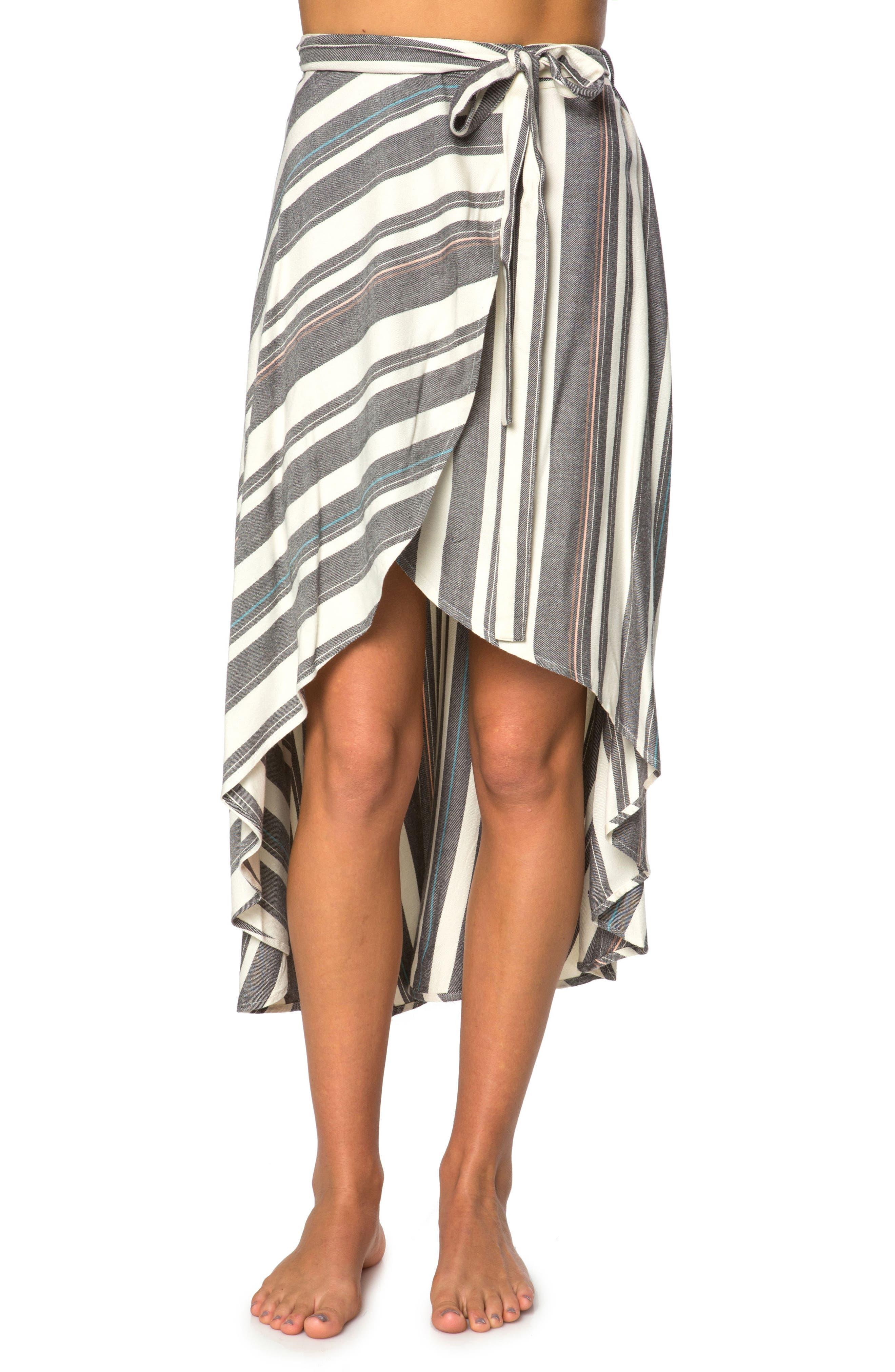 x Natalie Off Duty Savi Woven Skirt,                         Main,                         color, Multi Color