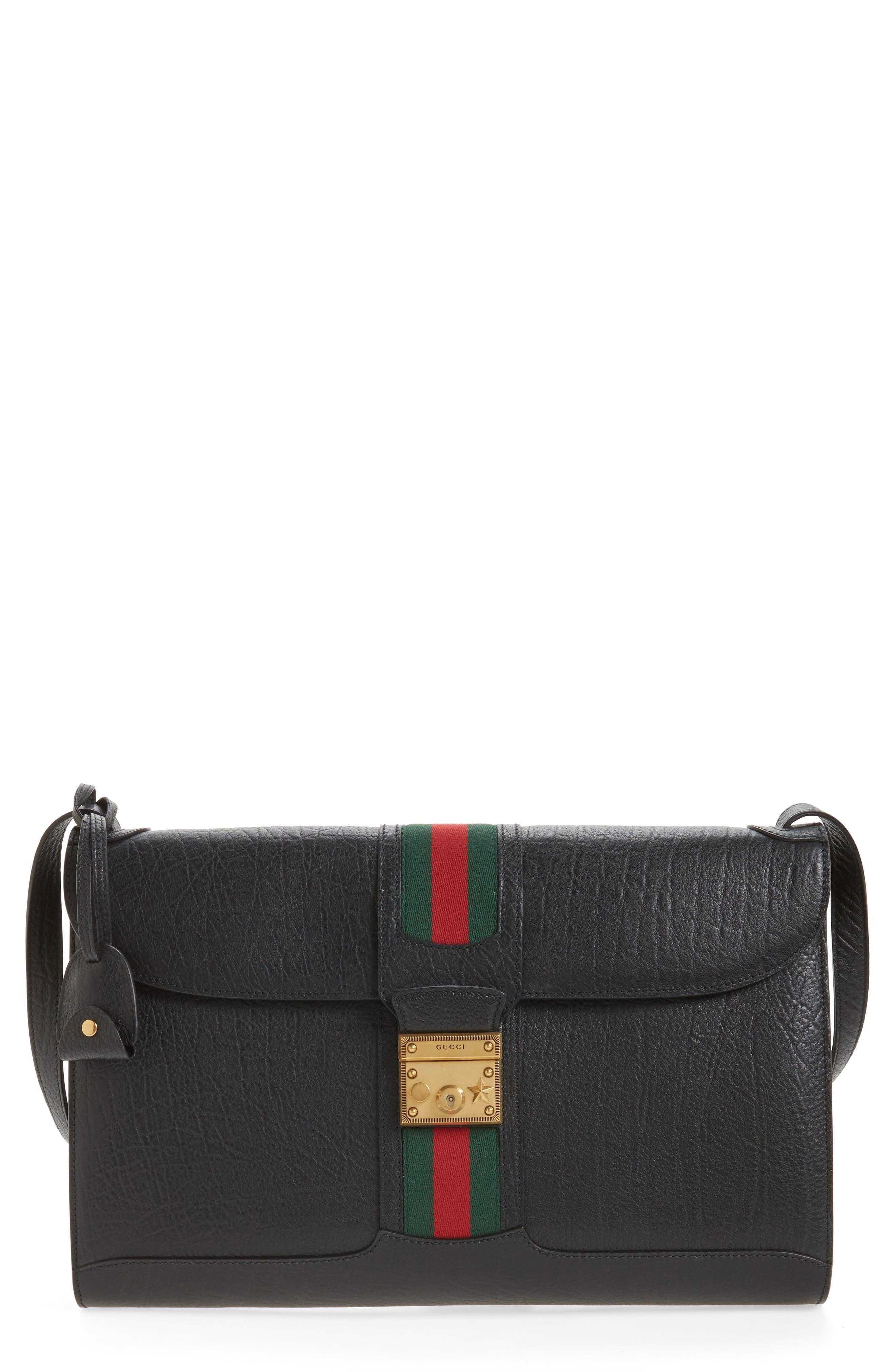 Neo Vintage Messenger Bag,                             Main thumbnail 1, color,                             Black Multi