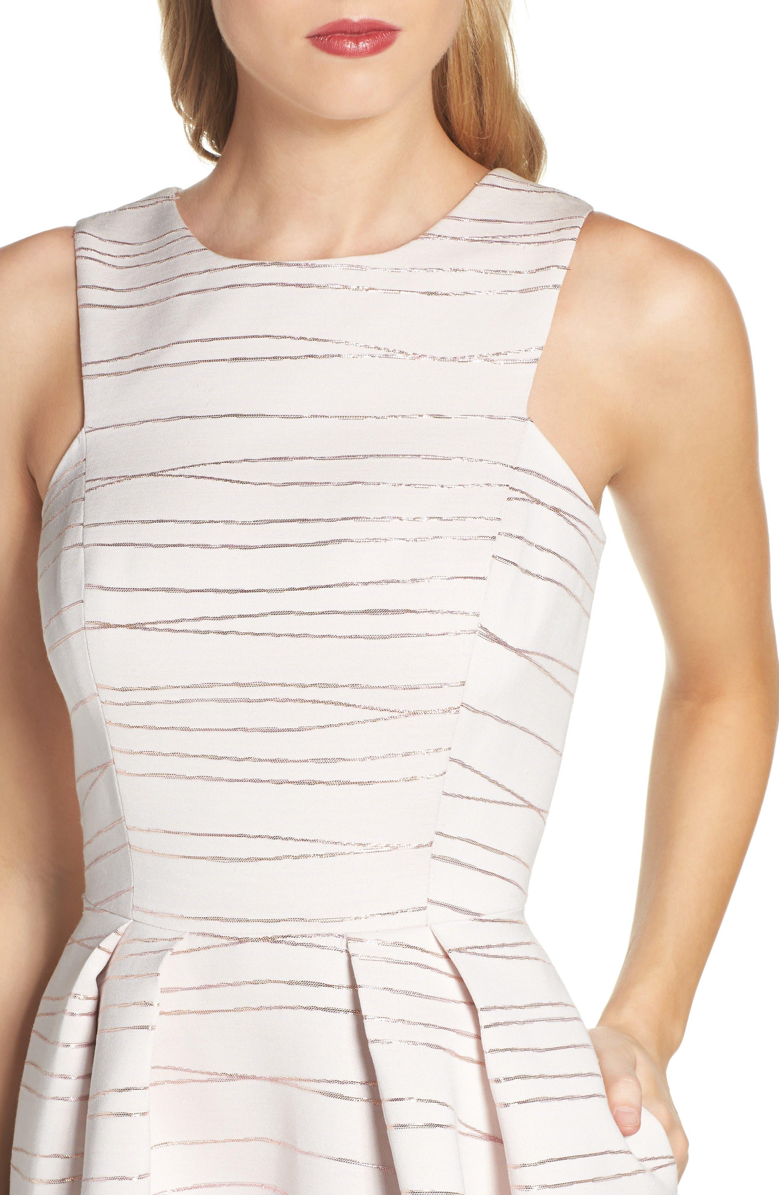 Alternate Image 4  - Shoshanna Coraline Fit & Flare Dress