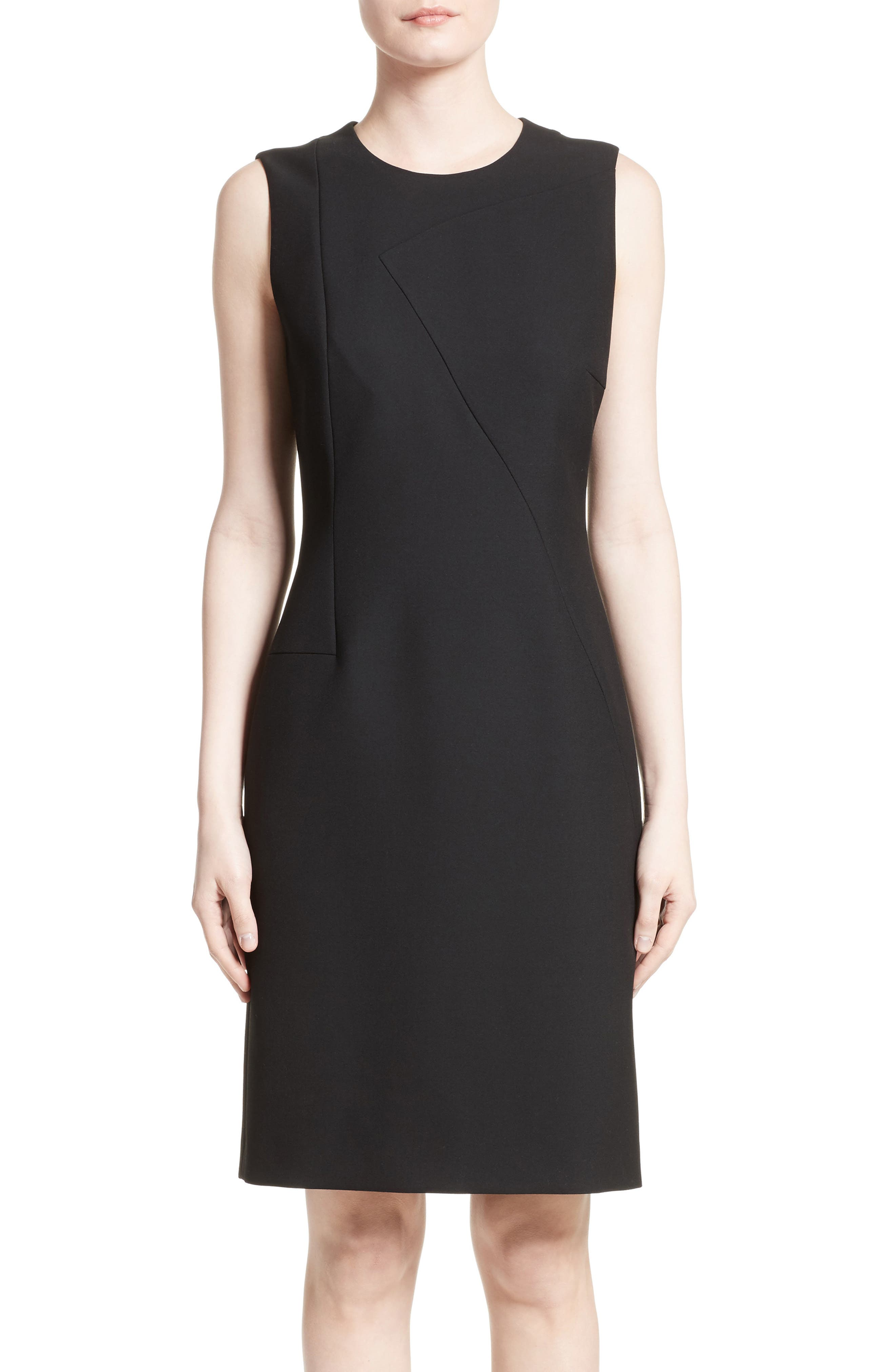 Alternate Image 1 Selected - BOSS Demisana Sheath Dress (Regular & Petite)