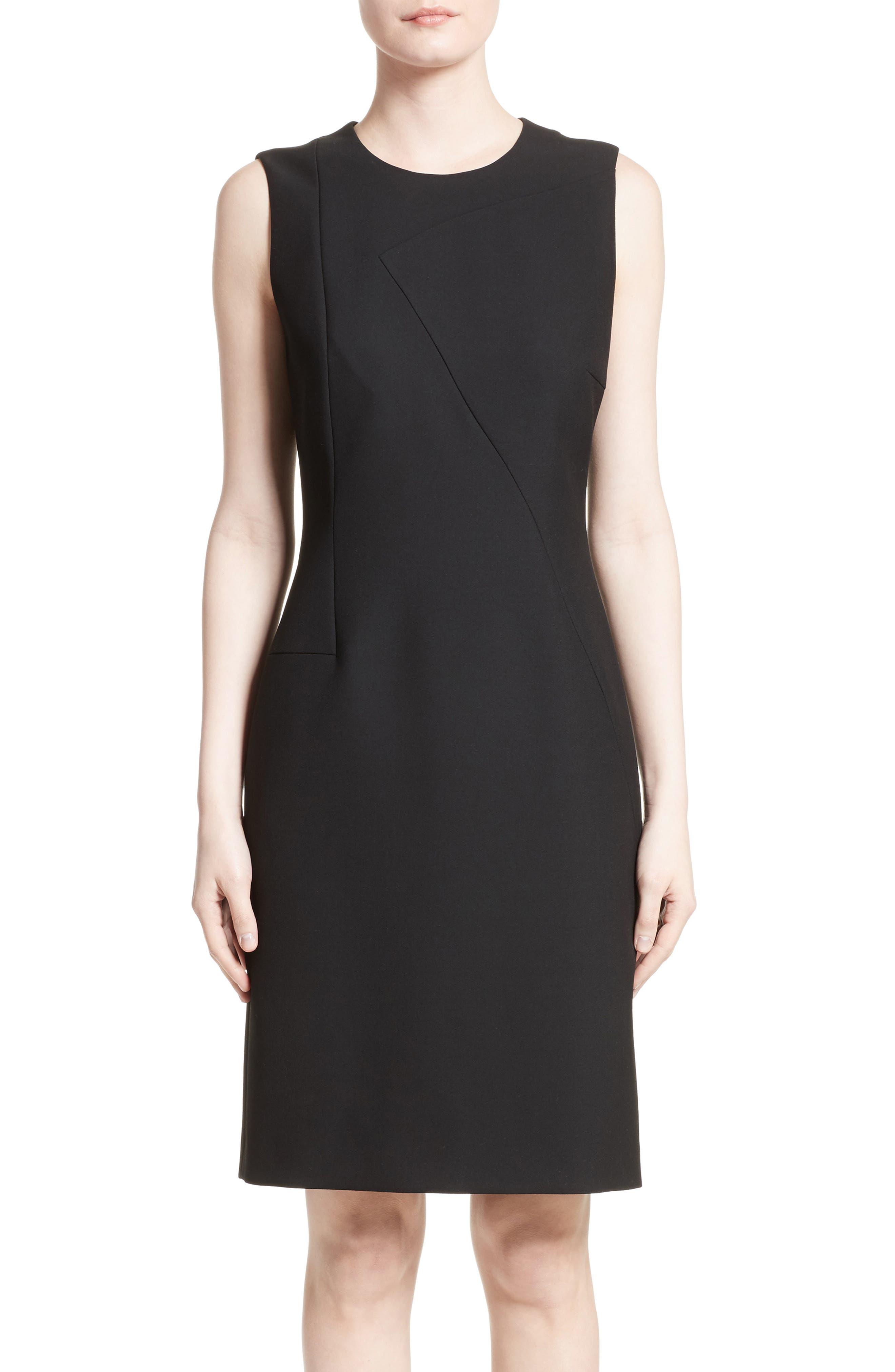 Main Image - BOSS Demisana Sheath Dress (Regular & Petite)