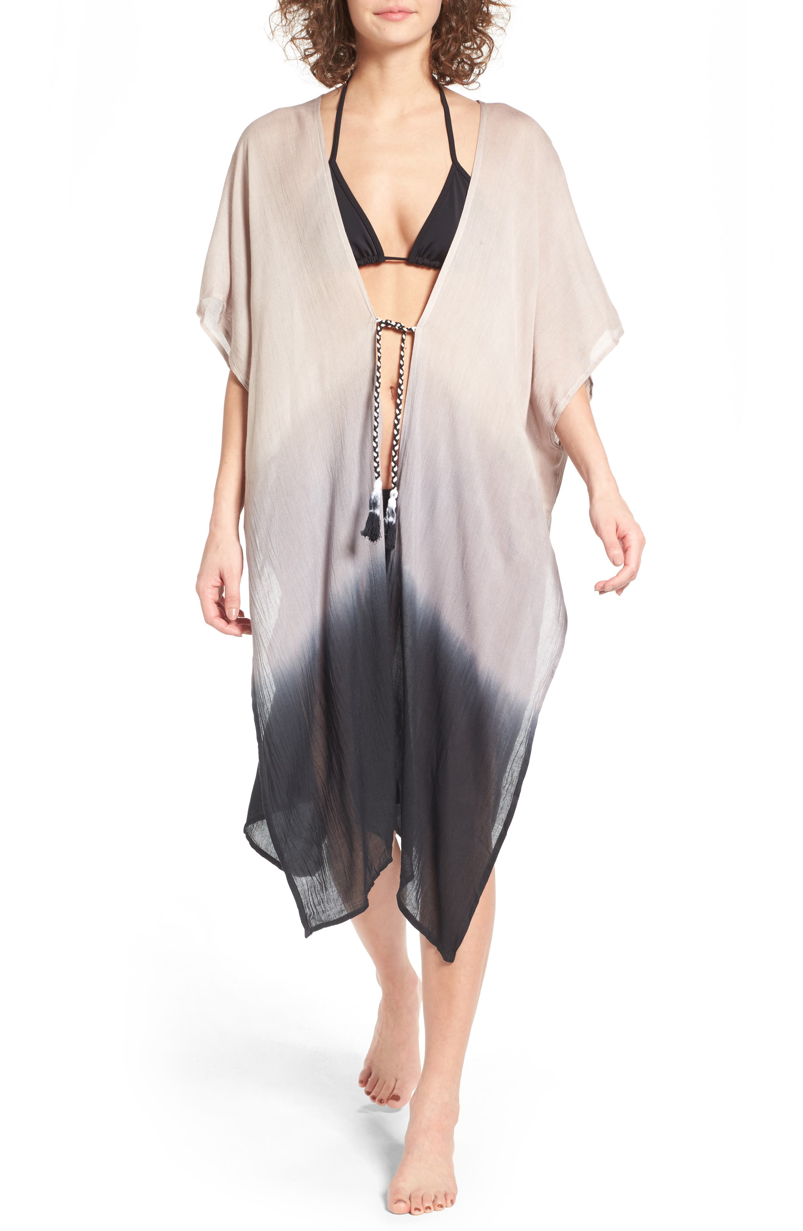 Main Image - Accessory Street Dip Dye Cover-Up