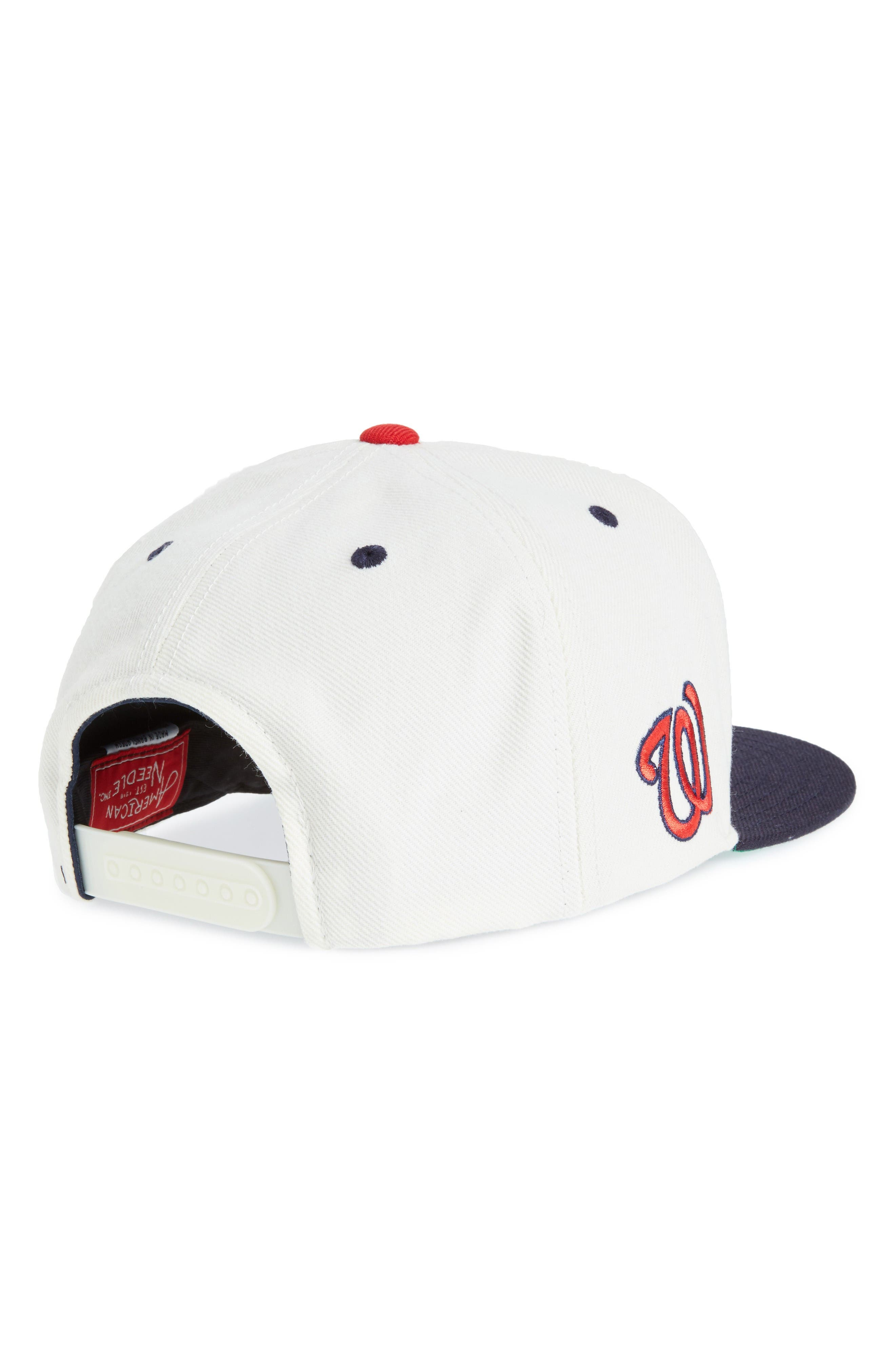United MLB Snapback Baseball Cap,                             Alternate thumbnail 2, color,                             Nationals