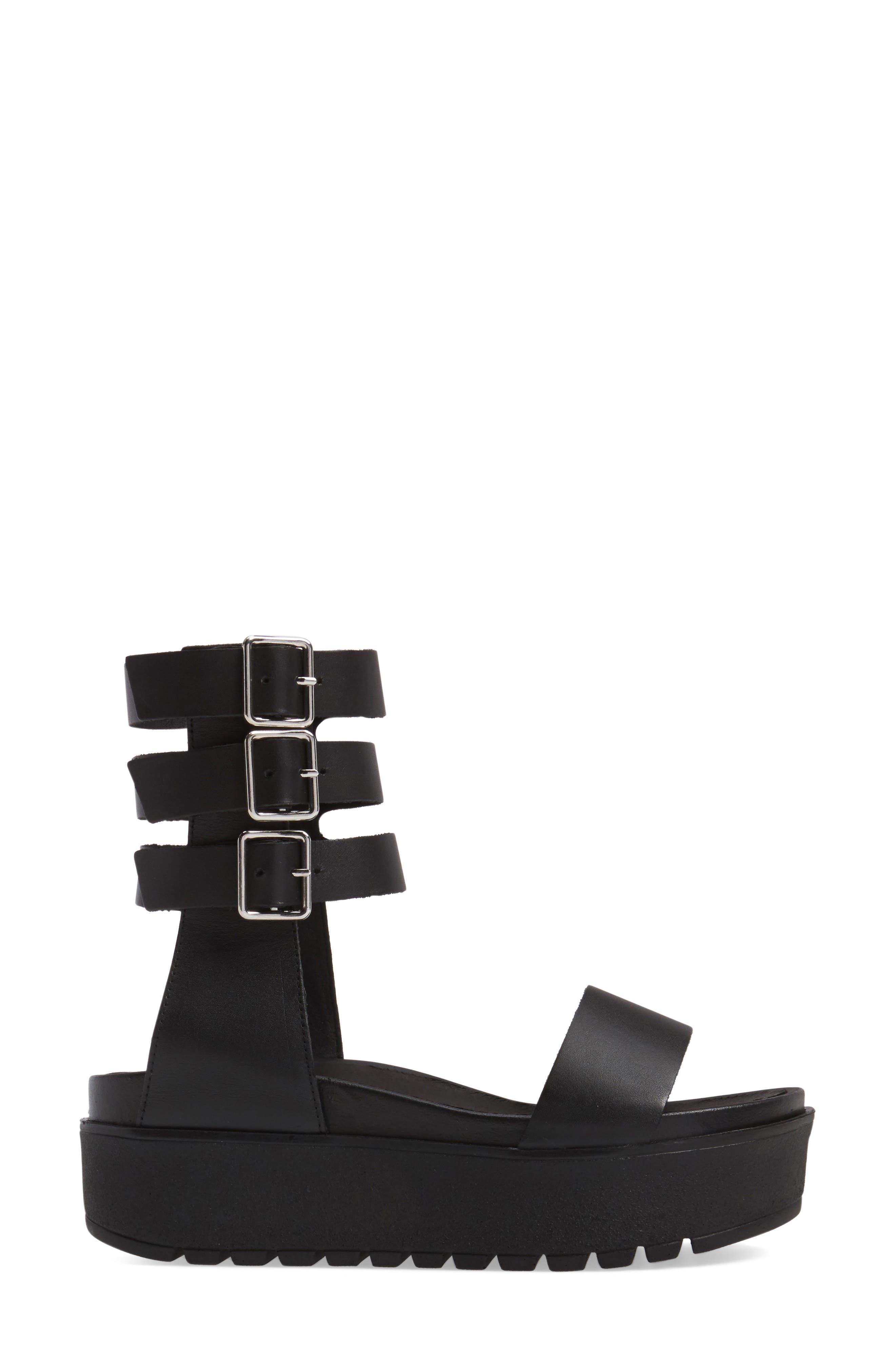 Alternate Image 3  - Shellys London Kegan Platform Gladiator Sandal (Women)