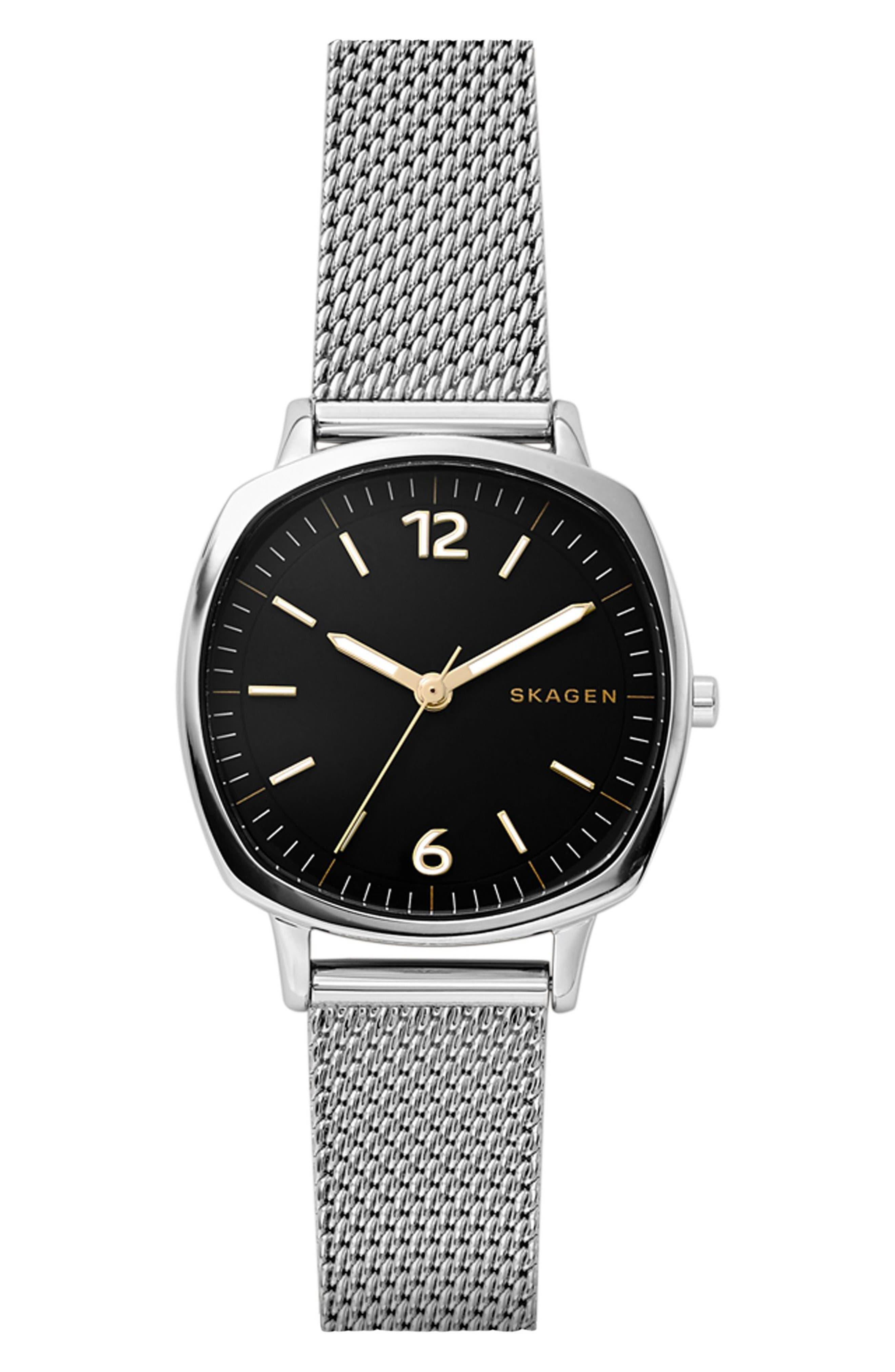 Skagen Rungsted Mini Mesh Strap Watch, 30mm