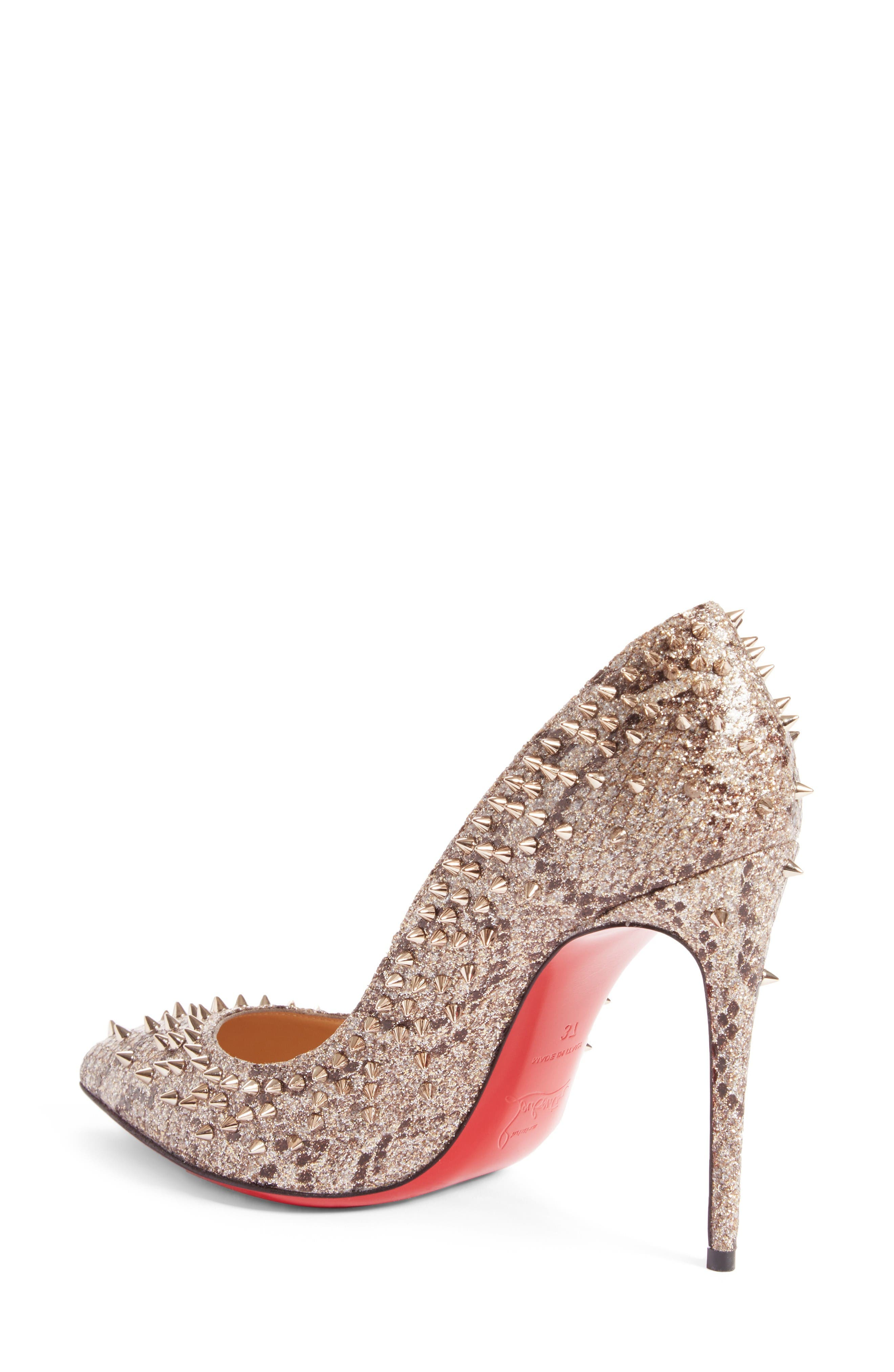 Alternate Image 2  - Christian Louboutin Escarpic Spike Pump (Women)