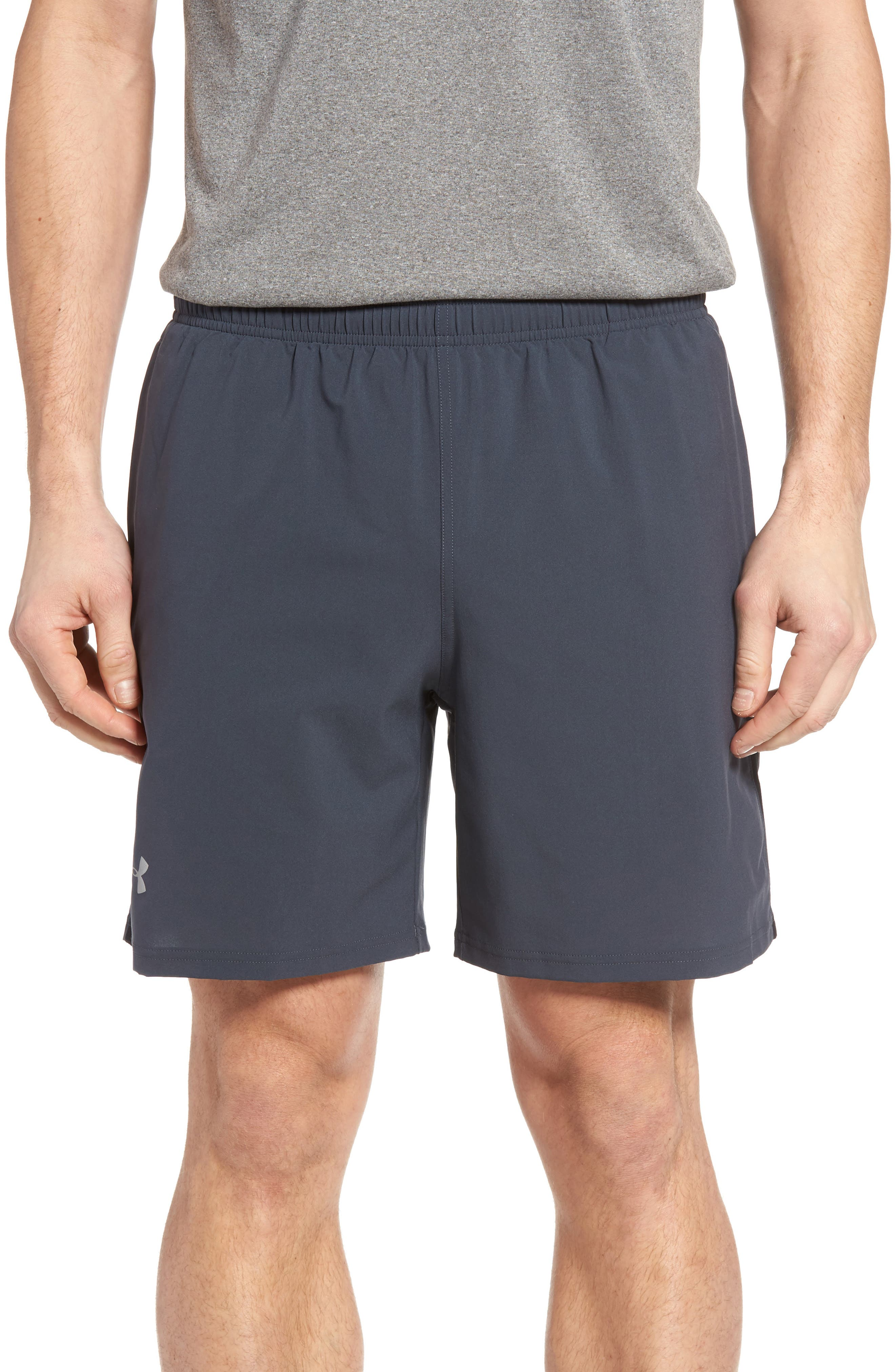 Launch Running Shorts,                         Main,                         color, Stealth Gray
