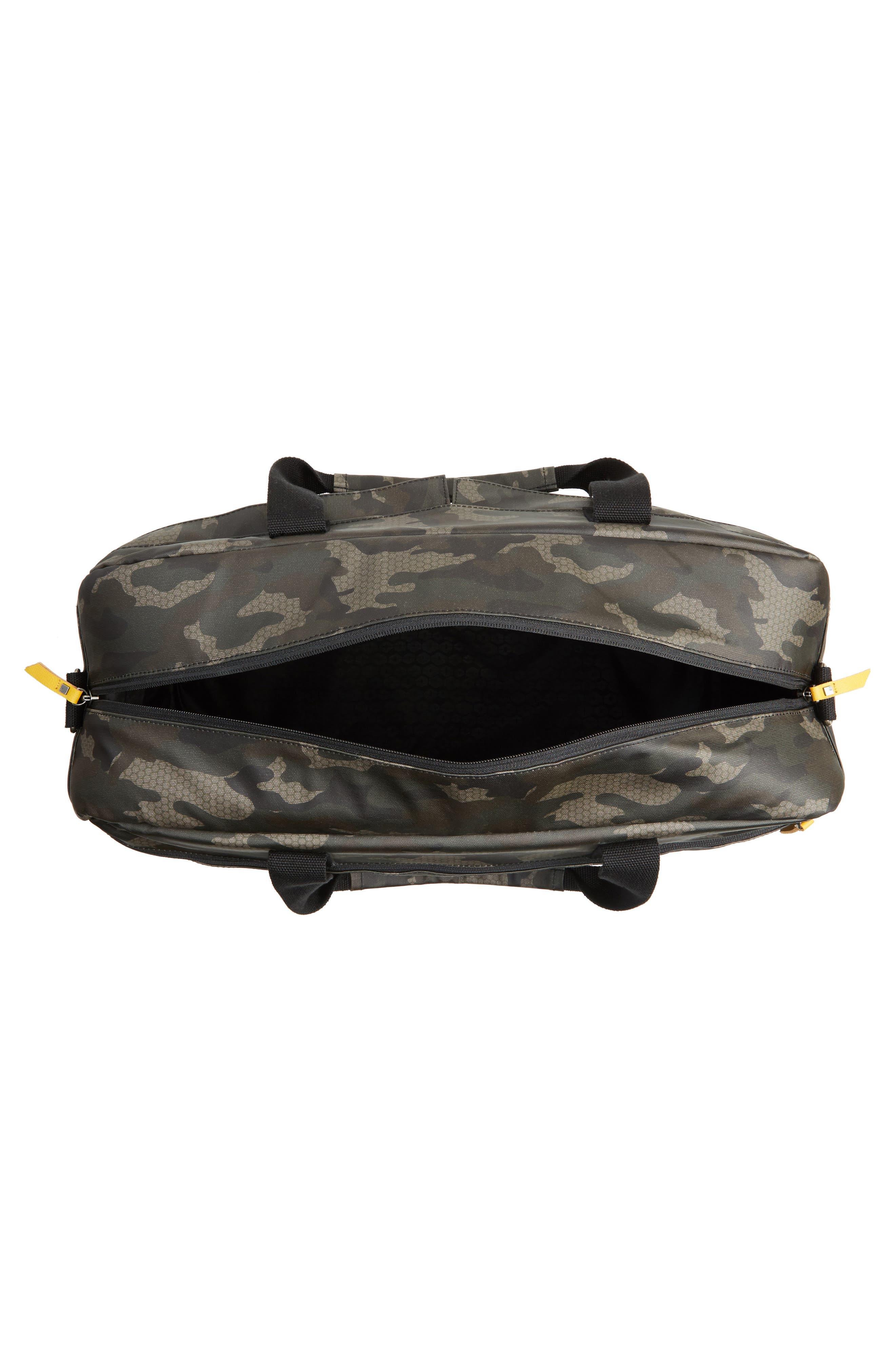 Calibre Duffel Bag,                             Alternate thumbnail 4, color,                             Camo