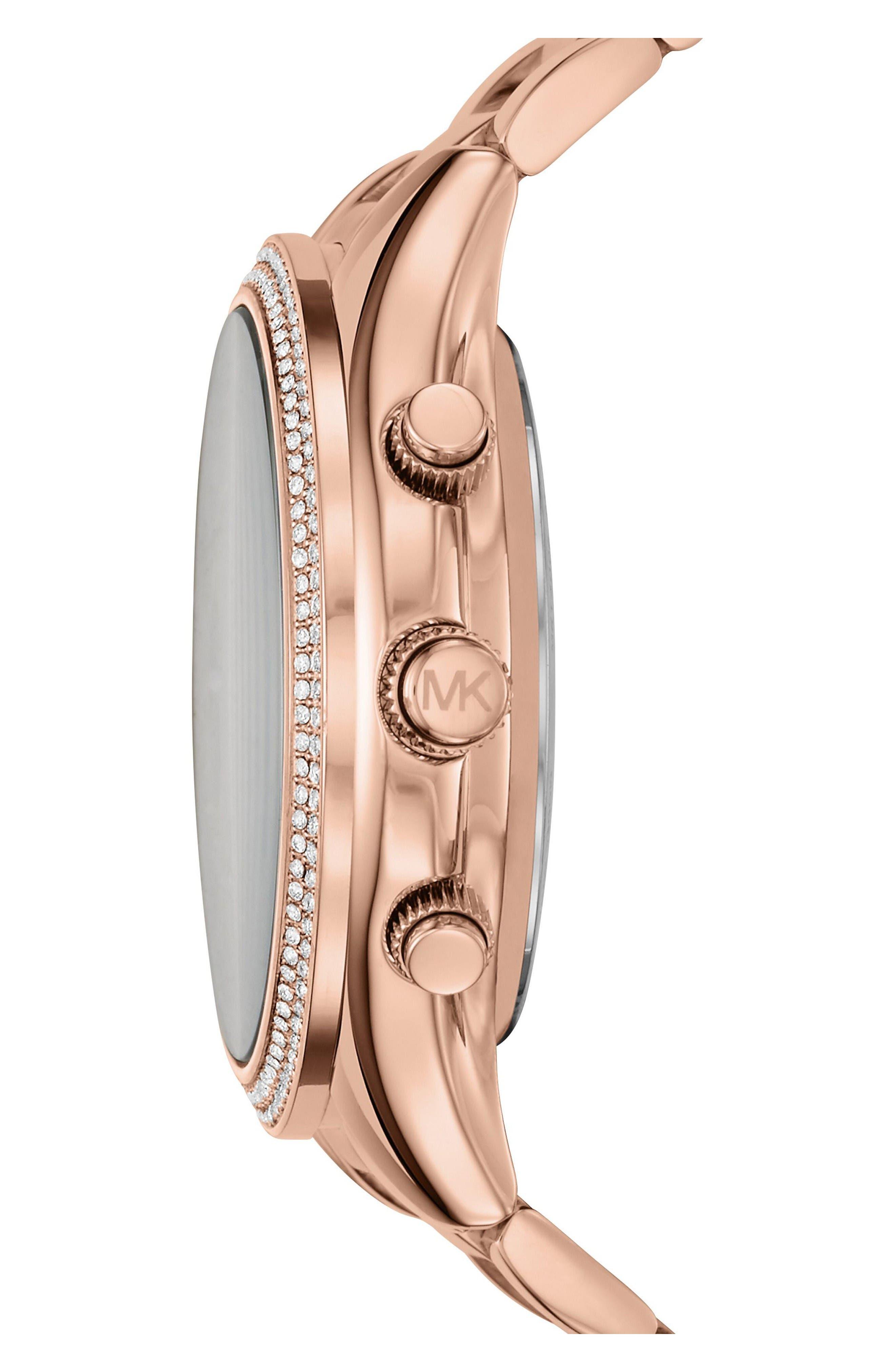 Access Smart Bracelet Watch, 42mm,                             Alternate thumbnail 3, color,                             Rose Gold/ Grey/ Rose Gold