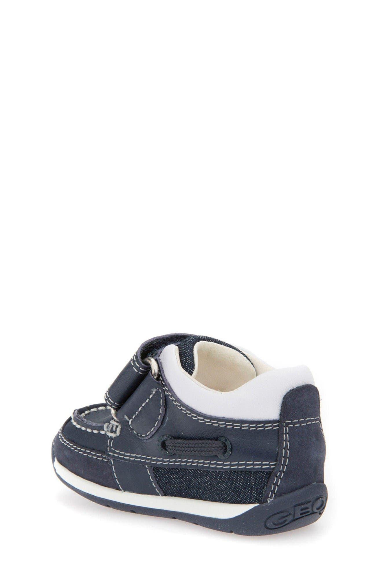 Alternate Image 2  - Geox Beach Sneaker (Baby, Walker & Toddler)