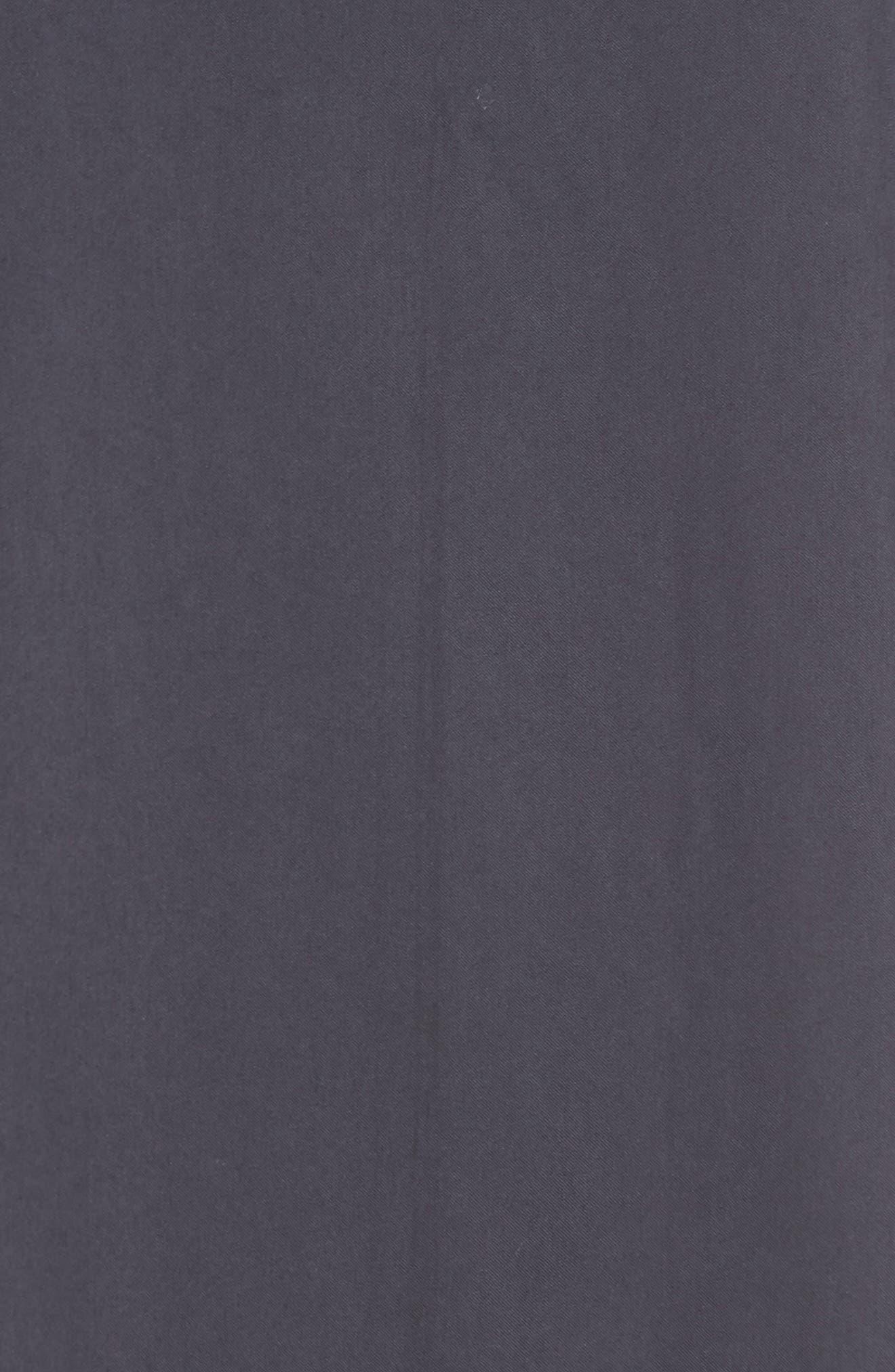 Alternate Image 5  - NIC+ZOE City Slicker Asymmetrical Midi Dress (Regular & Petite)
