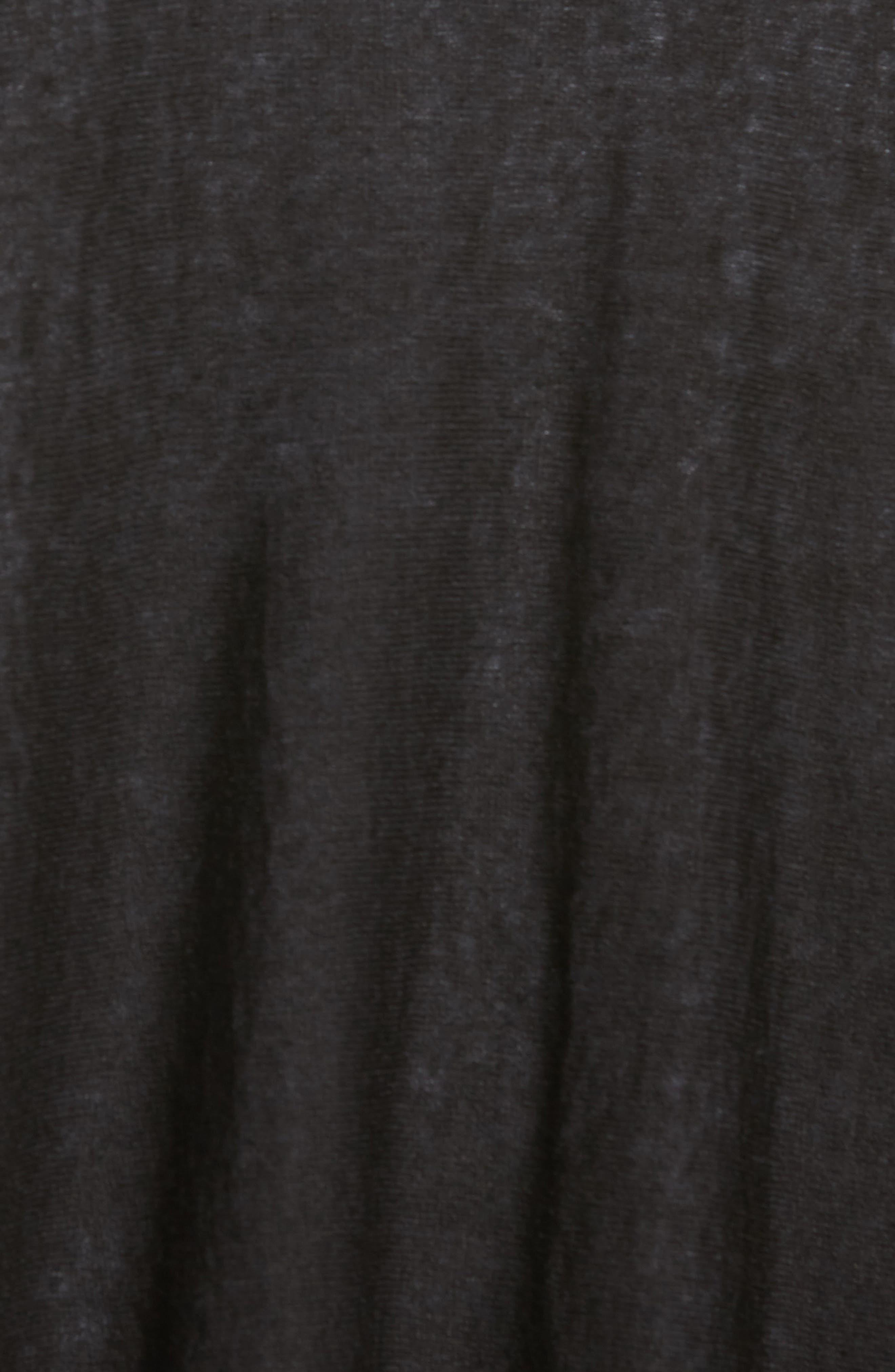 Alternate Image 5  - Eileen Fisher Organic Linen Blend Swing Sweater (Regular & Petite)