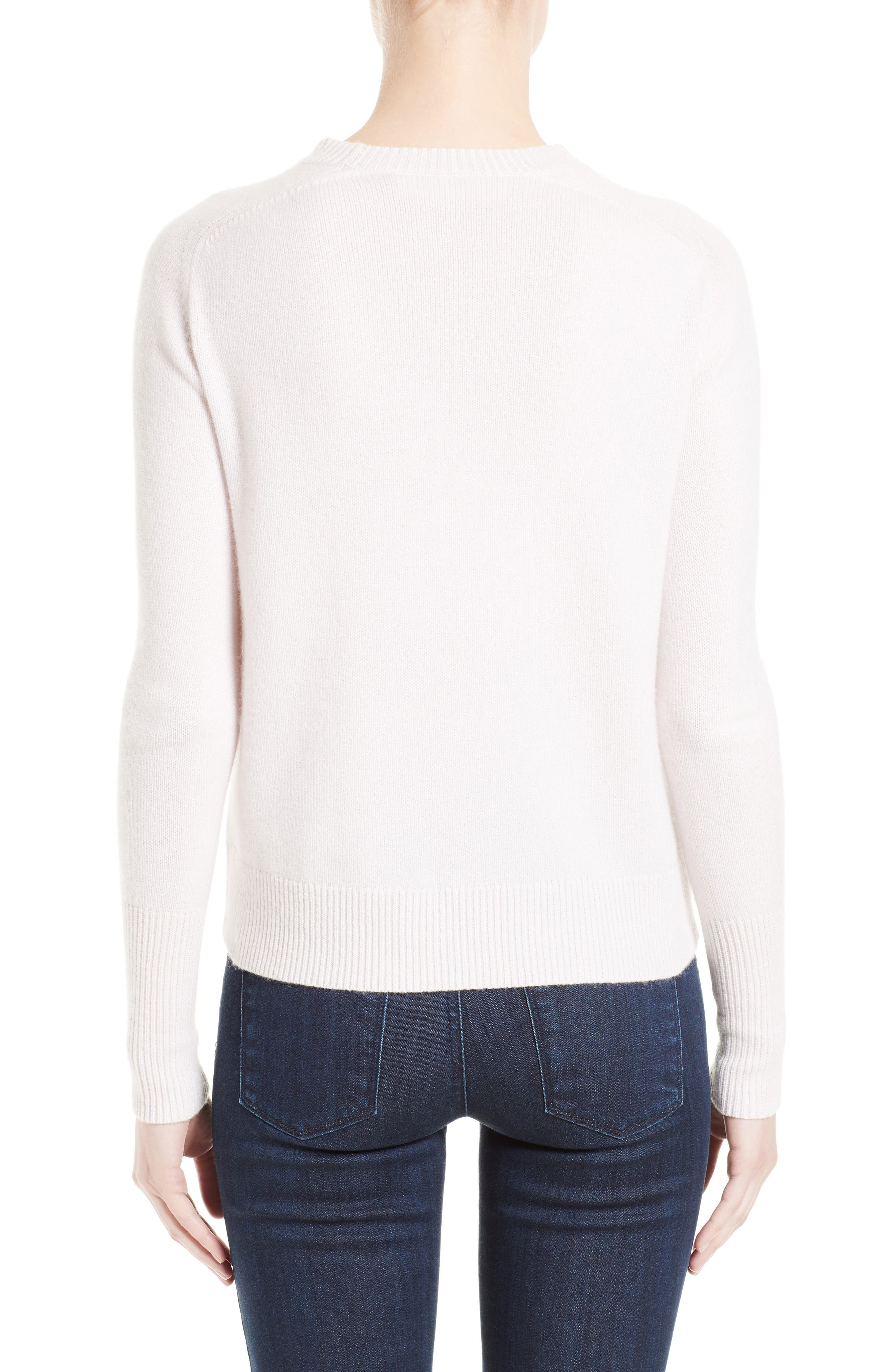 Cashmere Sweater,                             Alternate thumbnail 2, color,                             Butter