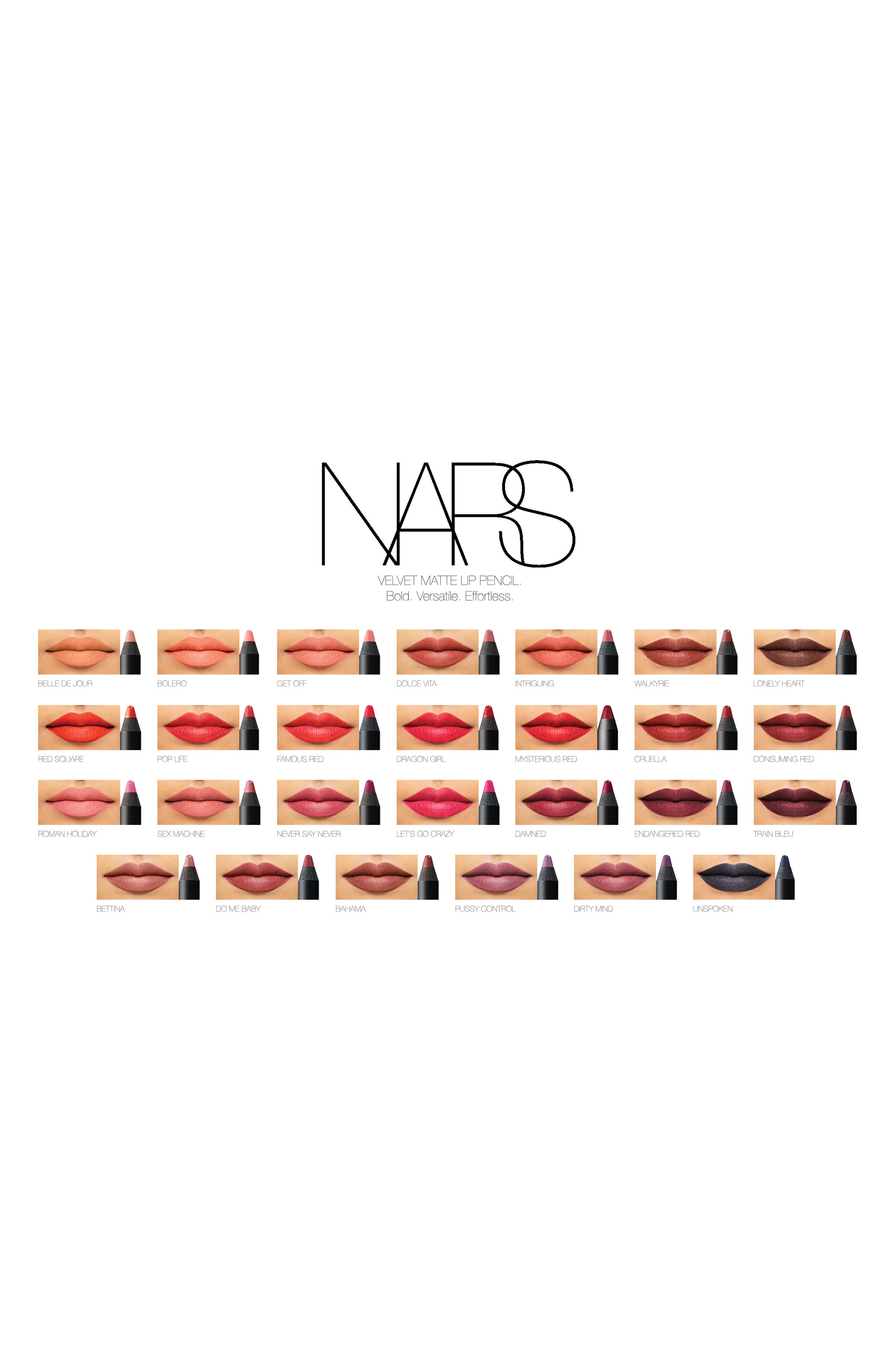 Alternate Image 5  - NARS Velvet Matte Lipstick Pencil