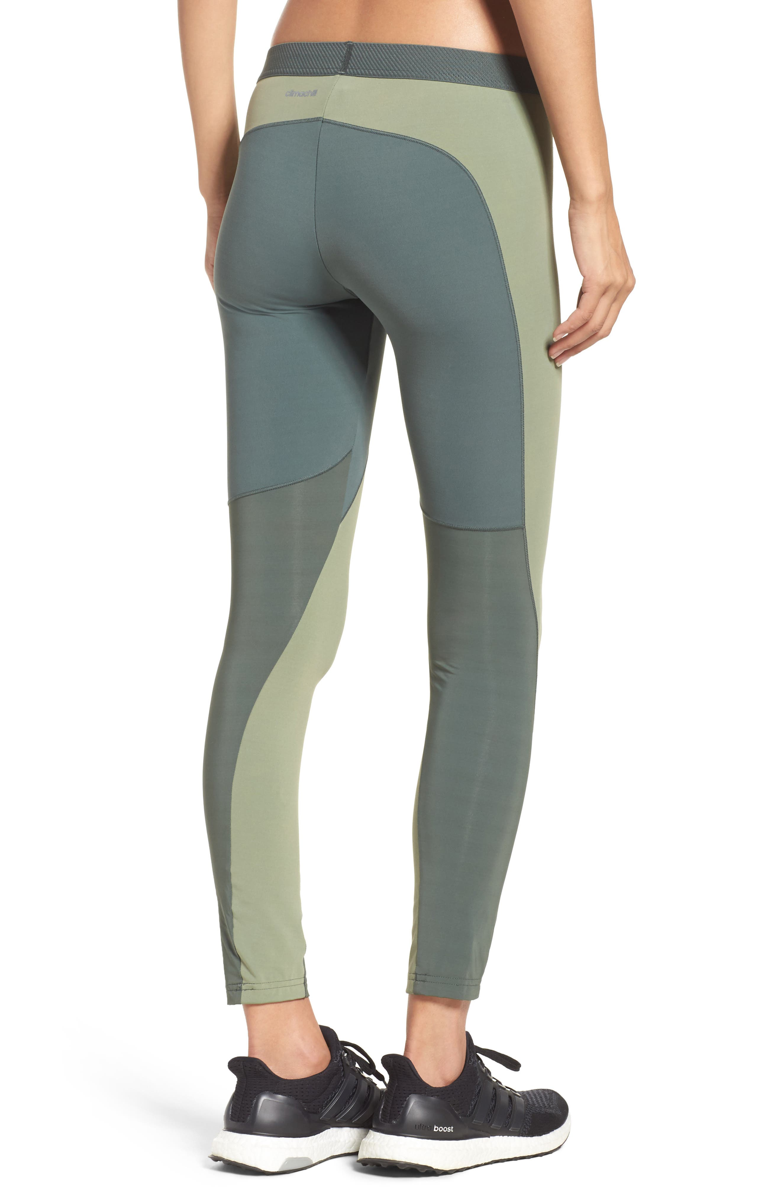 Climachill<sup>®</sup> Training Tights,                             Alternate thumbnail 2, color,                             Utility Ivy F16/ Green