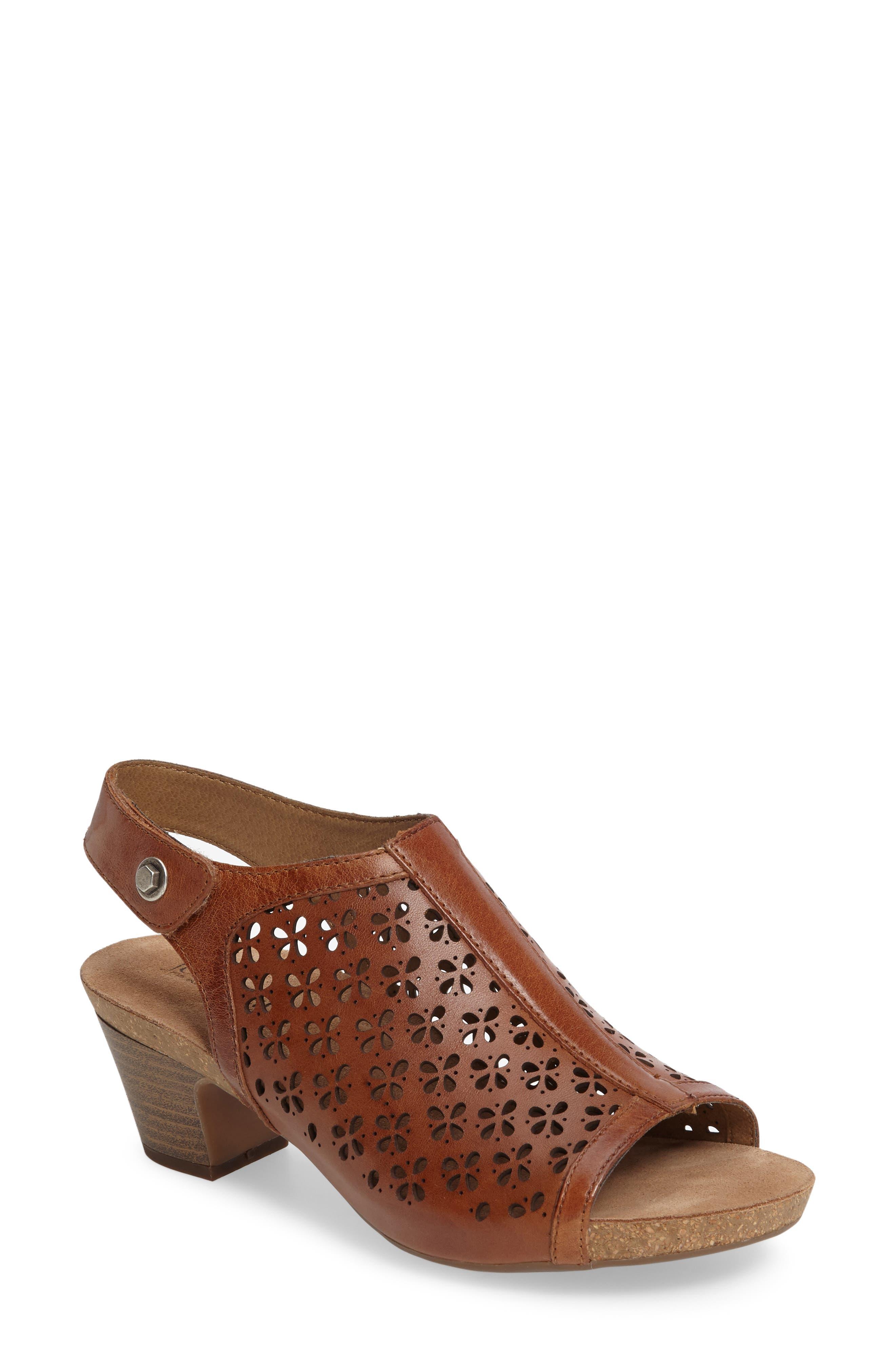 Main Image - Josef Seibel Ruth 33 Cutout Slingback Sandal (Women)
