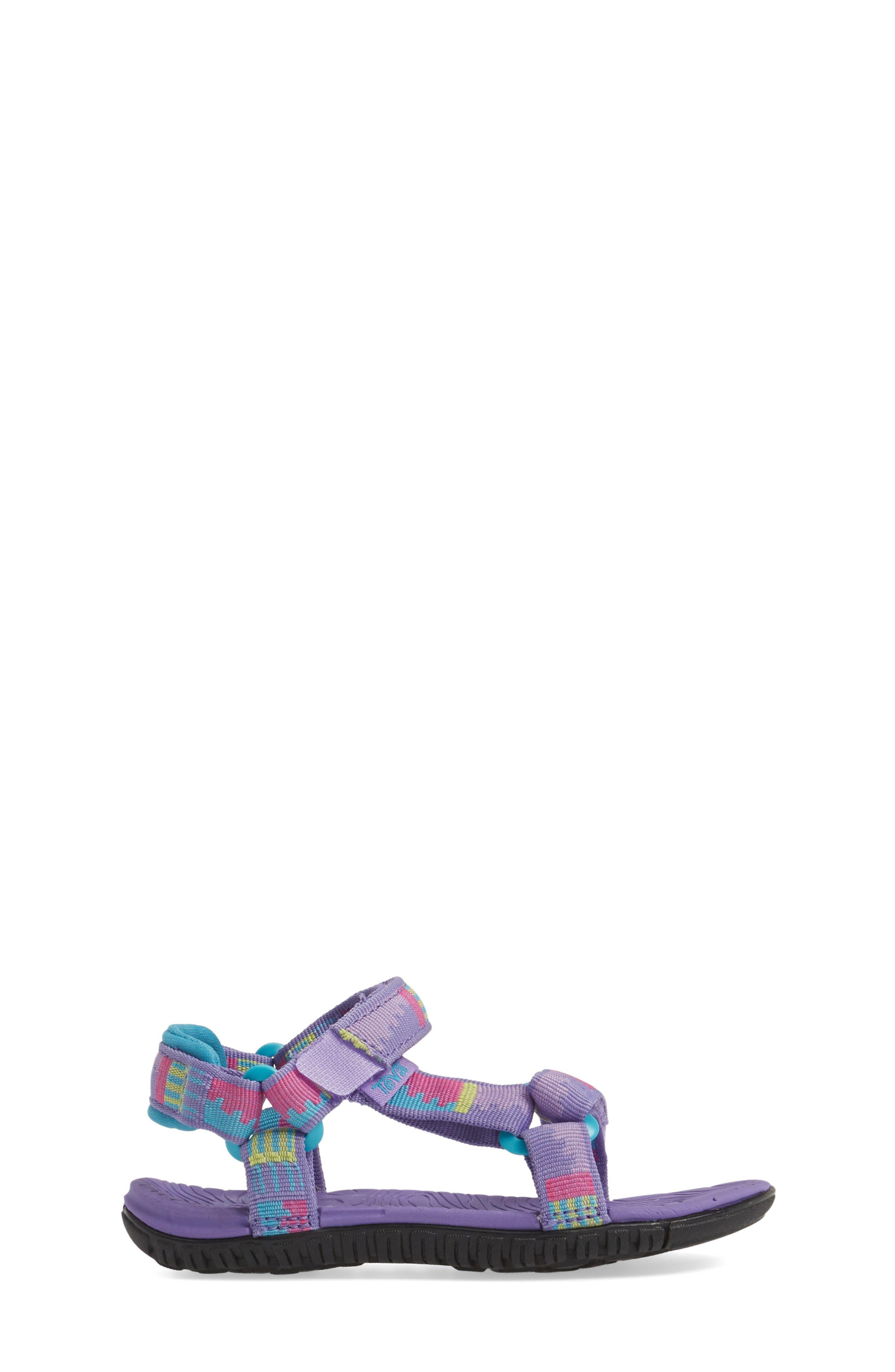'Hurricane 3' Sport Sandal,                             Alternate thumbnail 3, color,                             Purple