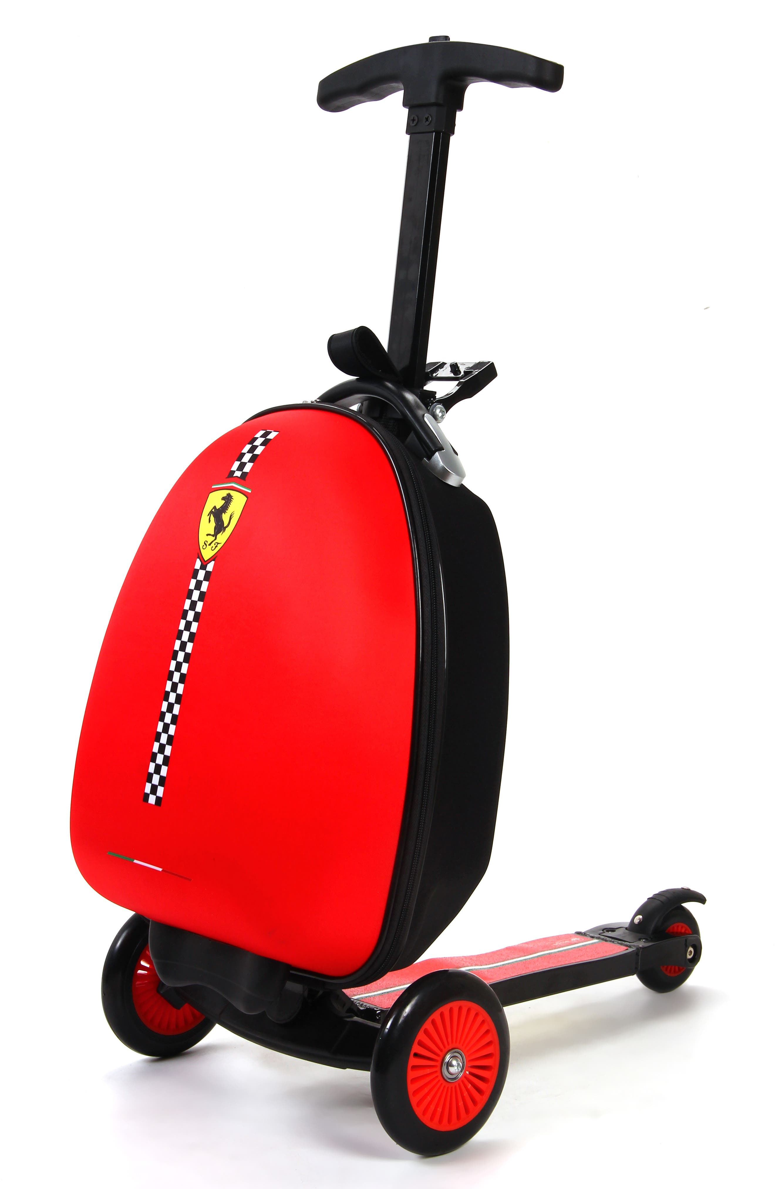 Scooter Trolley Case,                         Main,                         color, Red