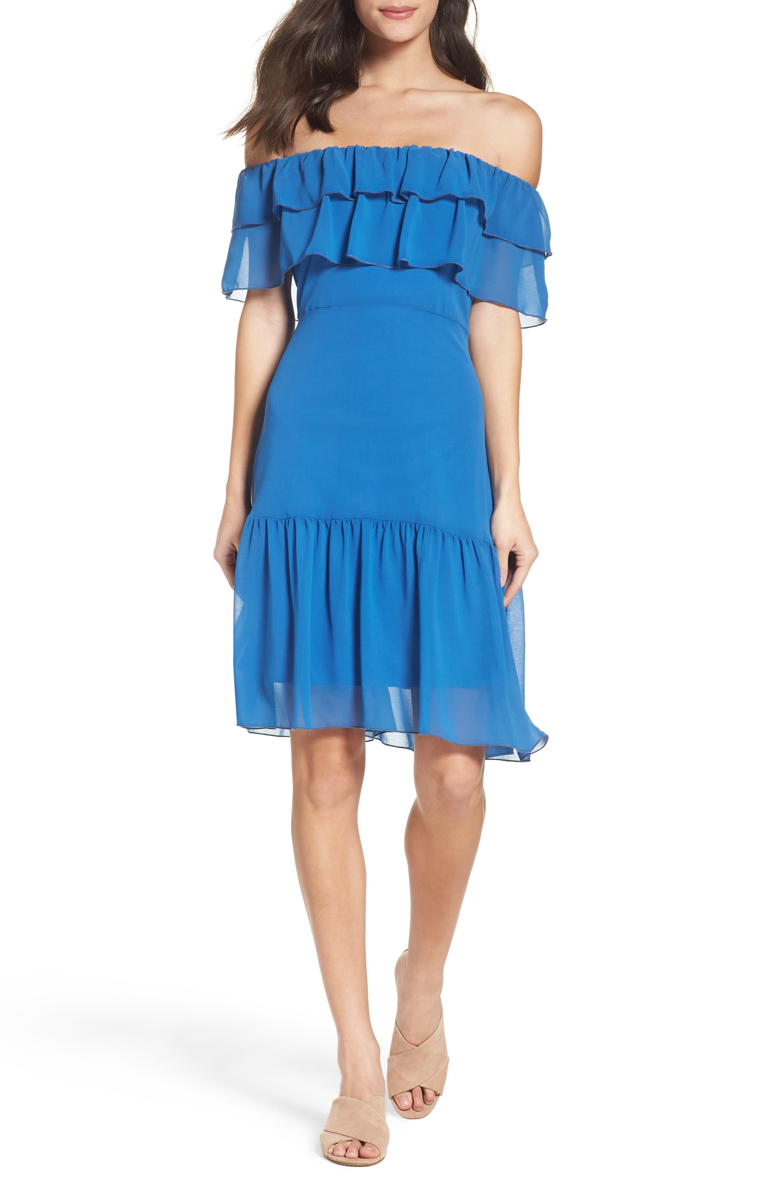 Alternate Image 4  - NSR Ruffle Dress
