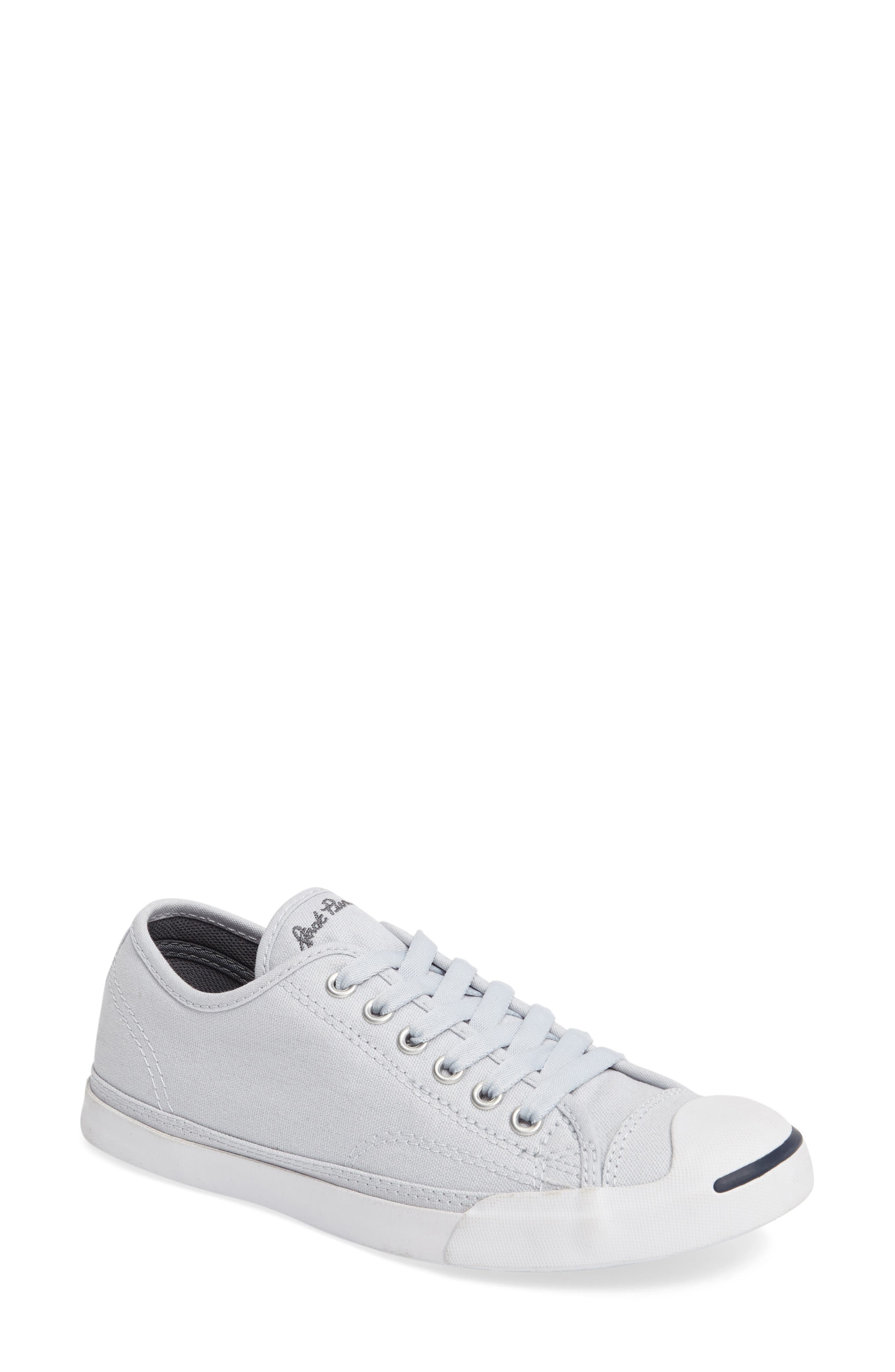 Jack Purcell Signature Ox Low Top Sneaker,                             Main thumbnail 1, color,                             Platinum