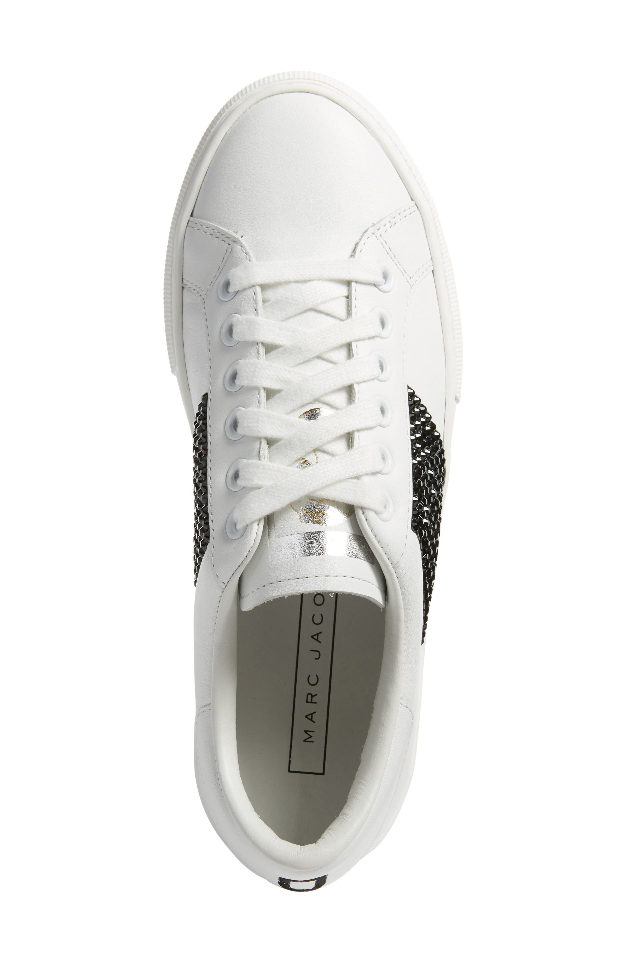 Alternate Image 5  - MARC JACOBS Empire Embellished Sneaker (Women)