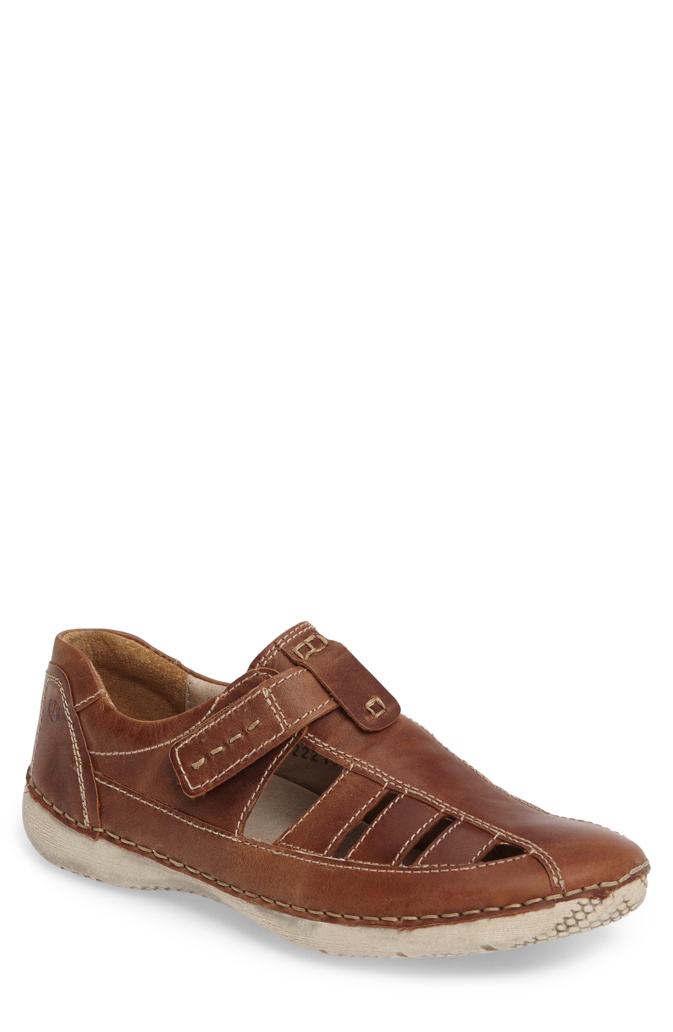 Antje 11 Sneaker,                         Main,                         color, Castagne Leather