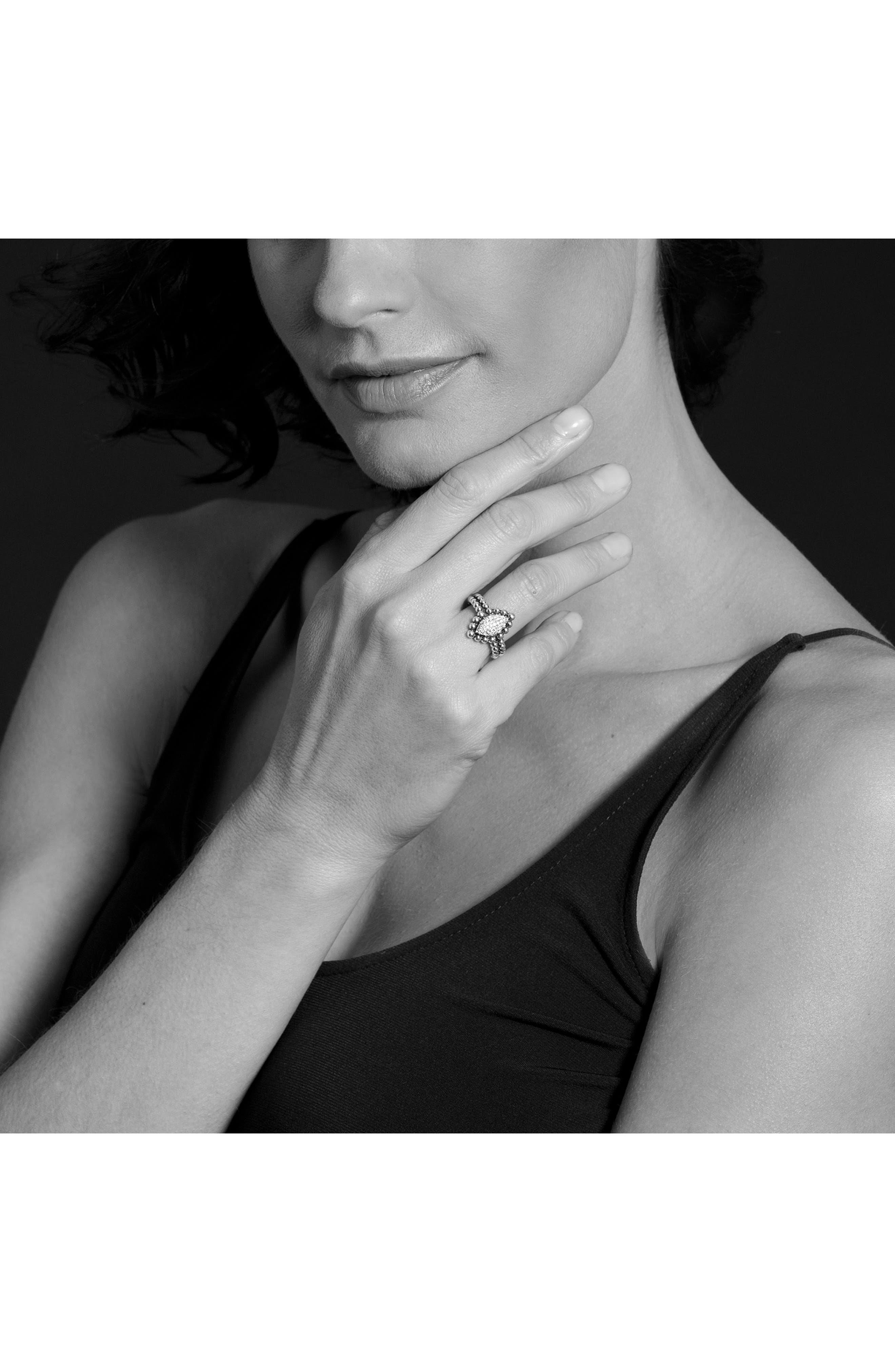 Alternate Image 3  - LAGOS Caviar Spark Diamond Marquise Ring