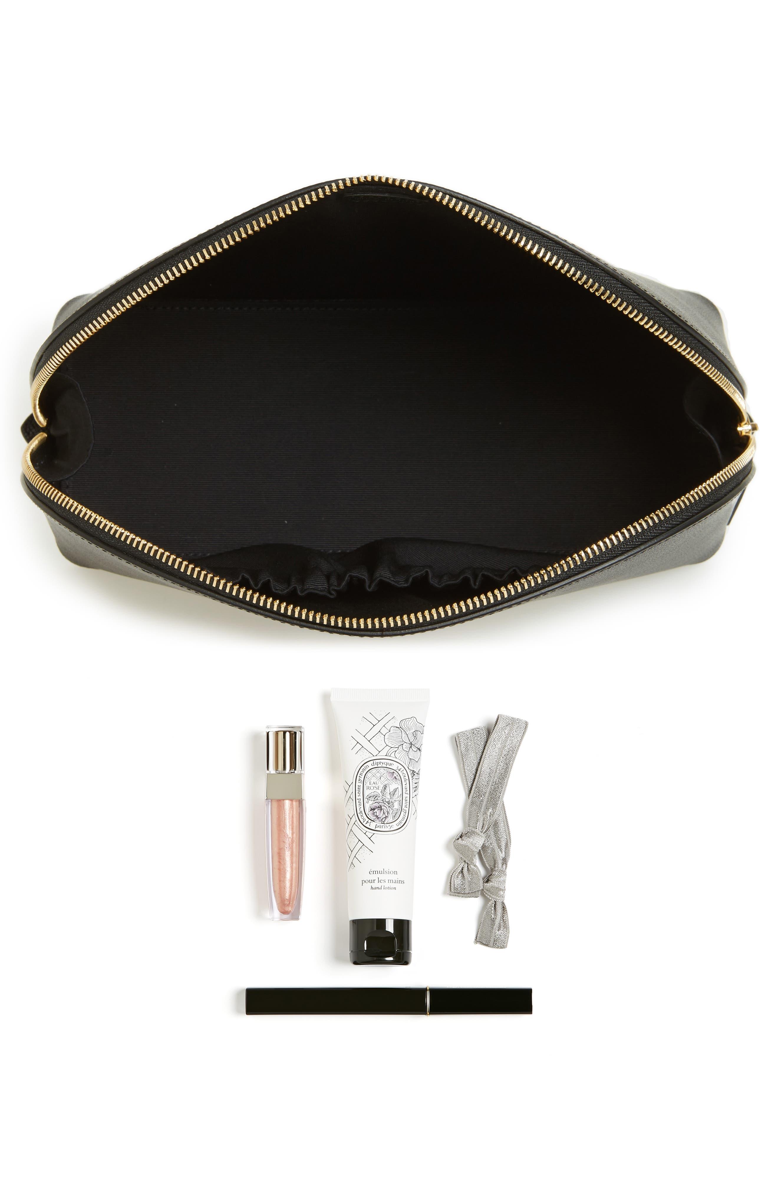 Alternate Image 5  - Smythson Medium Leather Cosmetics Case