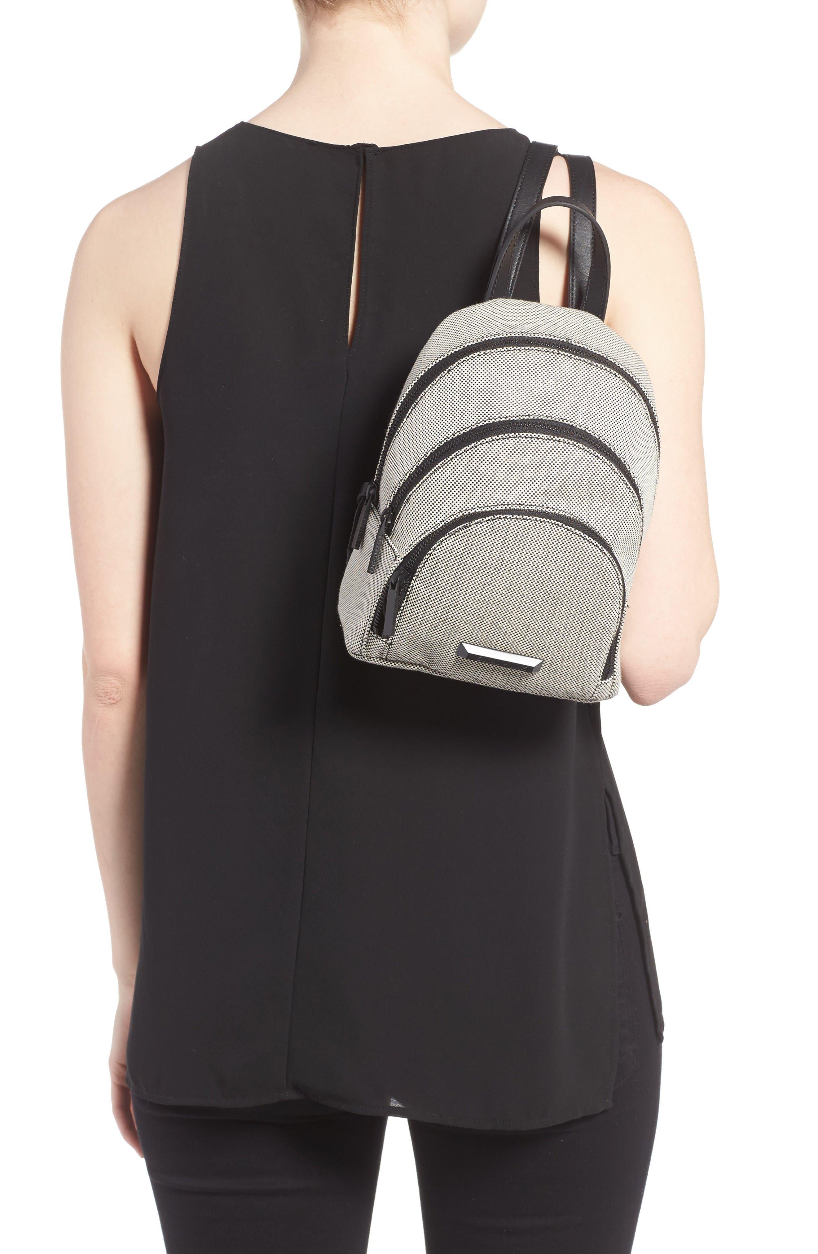 Alternate Image 2  - KENDALL + KYLIE Mini Sloane Canvas Backpack