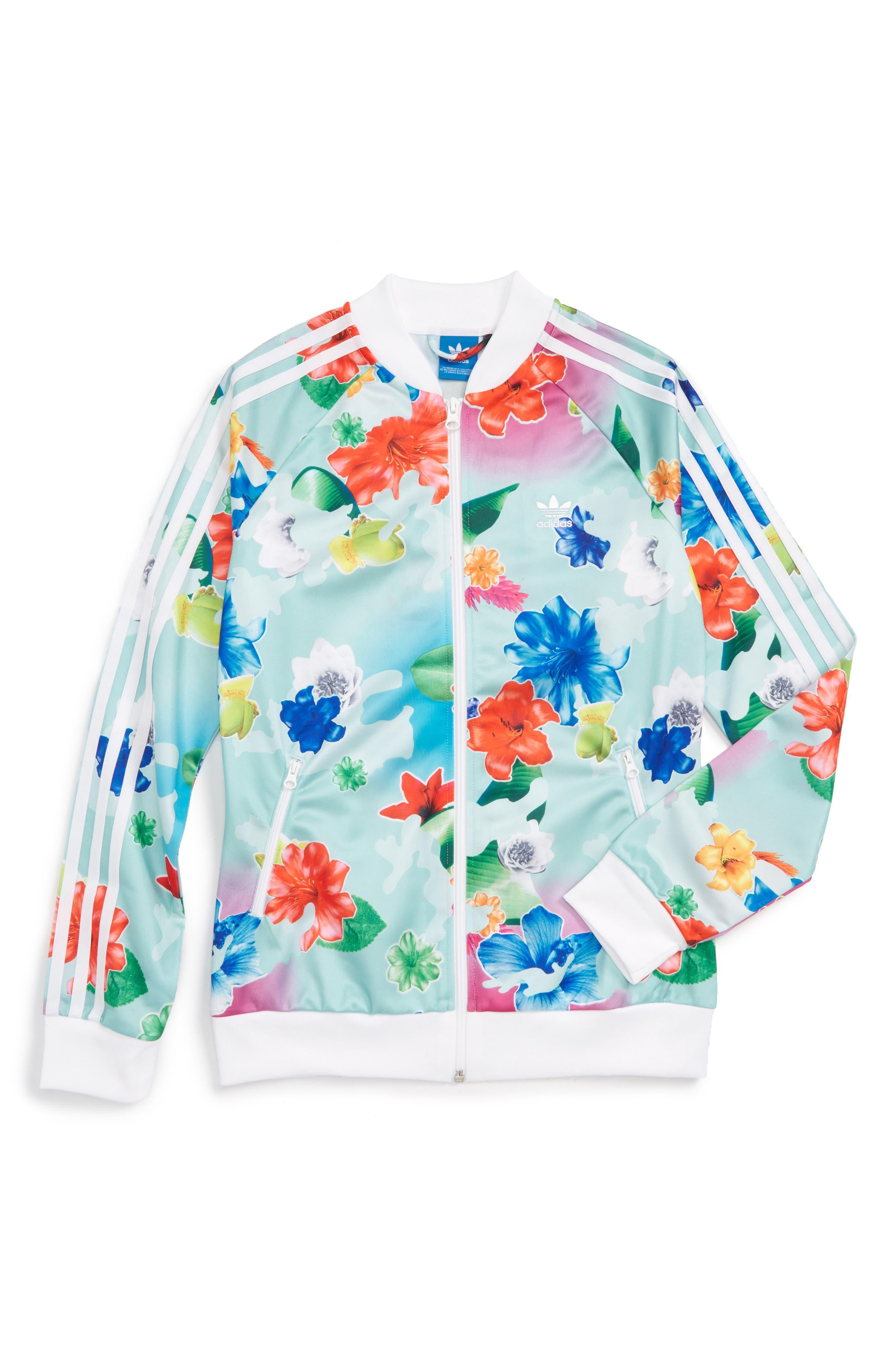 Adidas Originali Giacca Supergirl Traccia Giacca Originali (Big Girls) Nordstrom 60a990