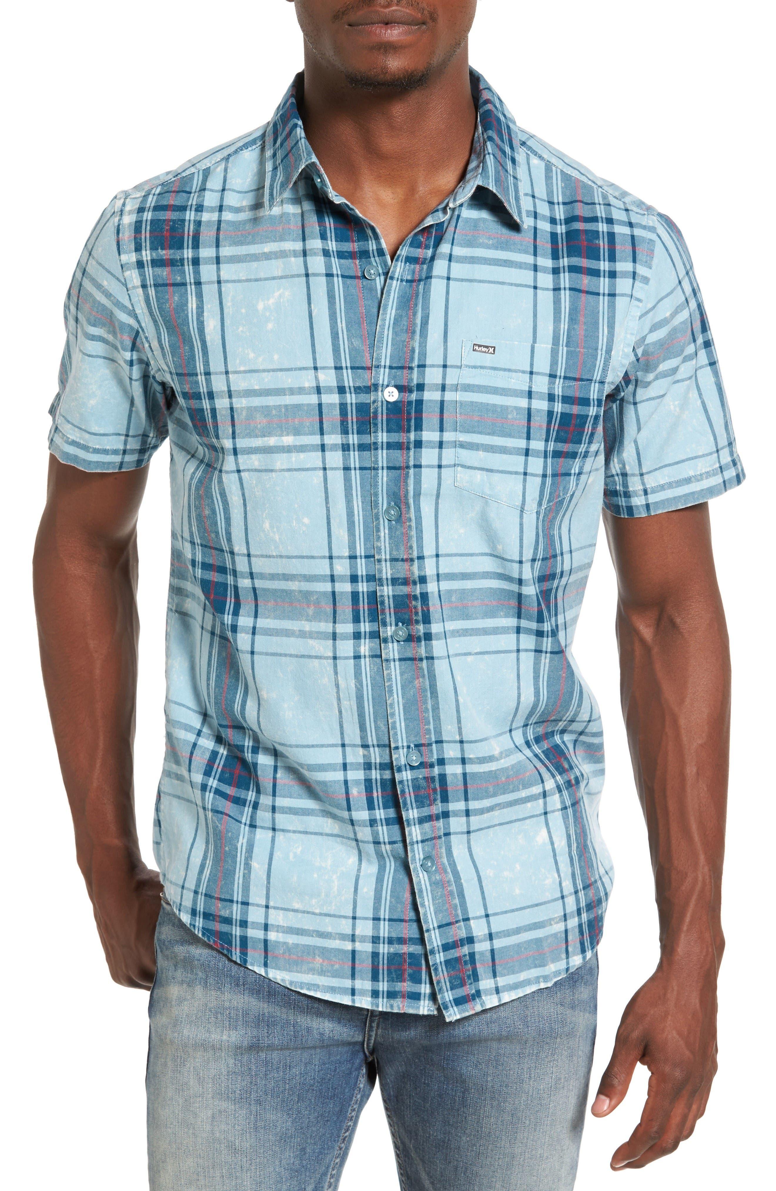 Hurley Archer Plaid Shirt