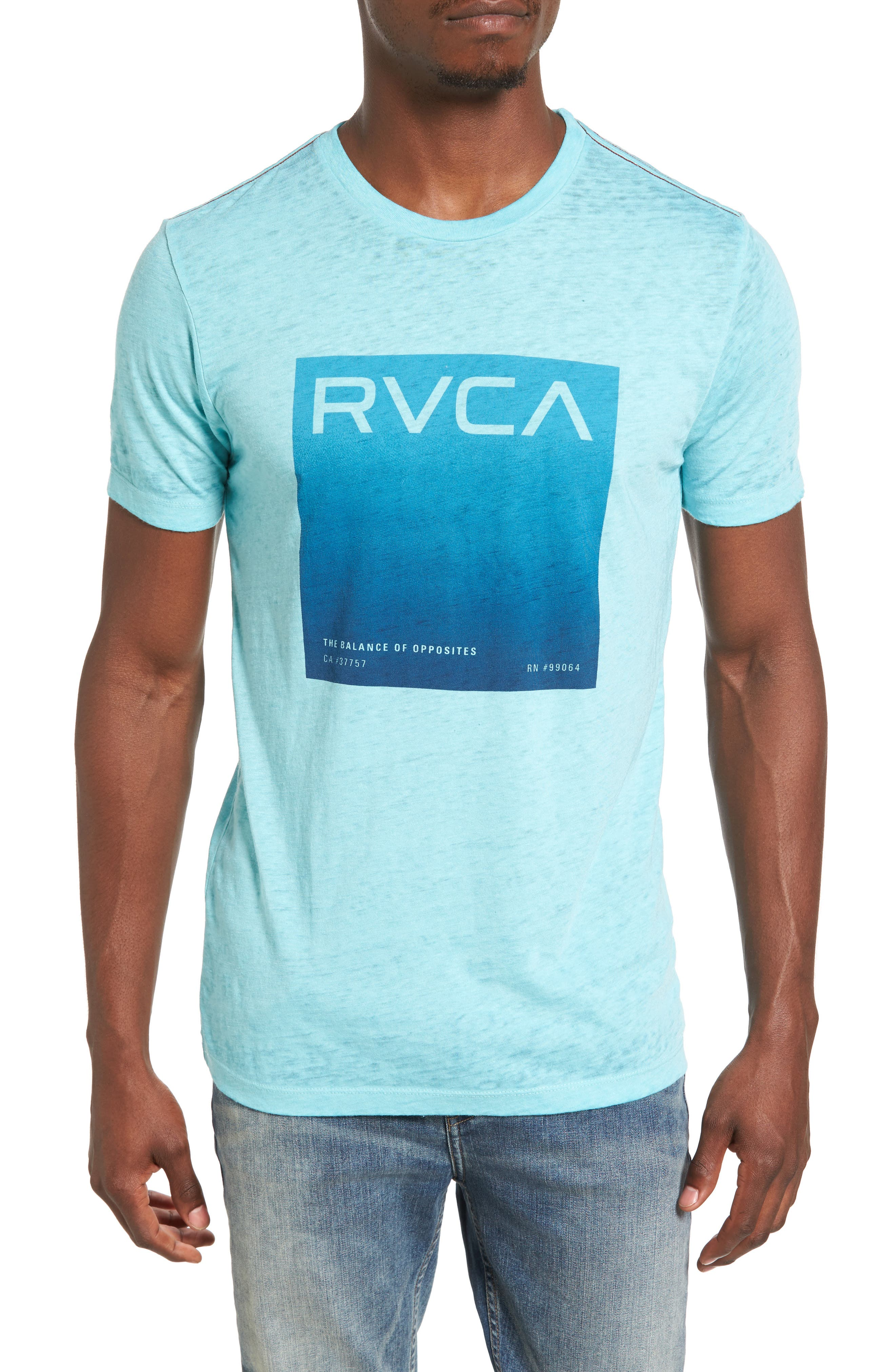 Balance Process T-Shirt,                             Main thumbnail 1, color,                             Nile Blue