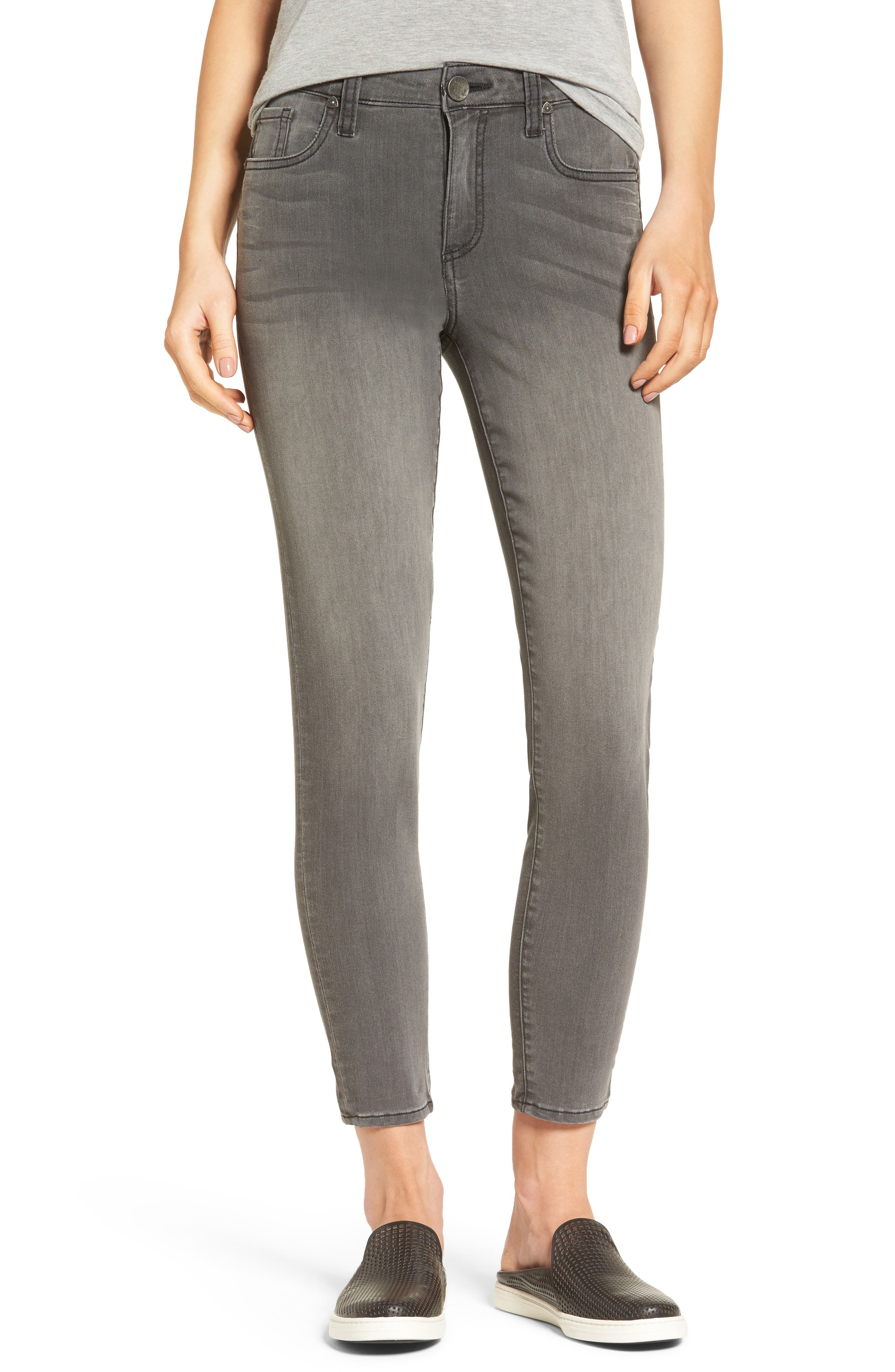 KUT from the Kloth Donna Skinny Ankle Jeans (Meritorious) (Regular & Petite)