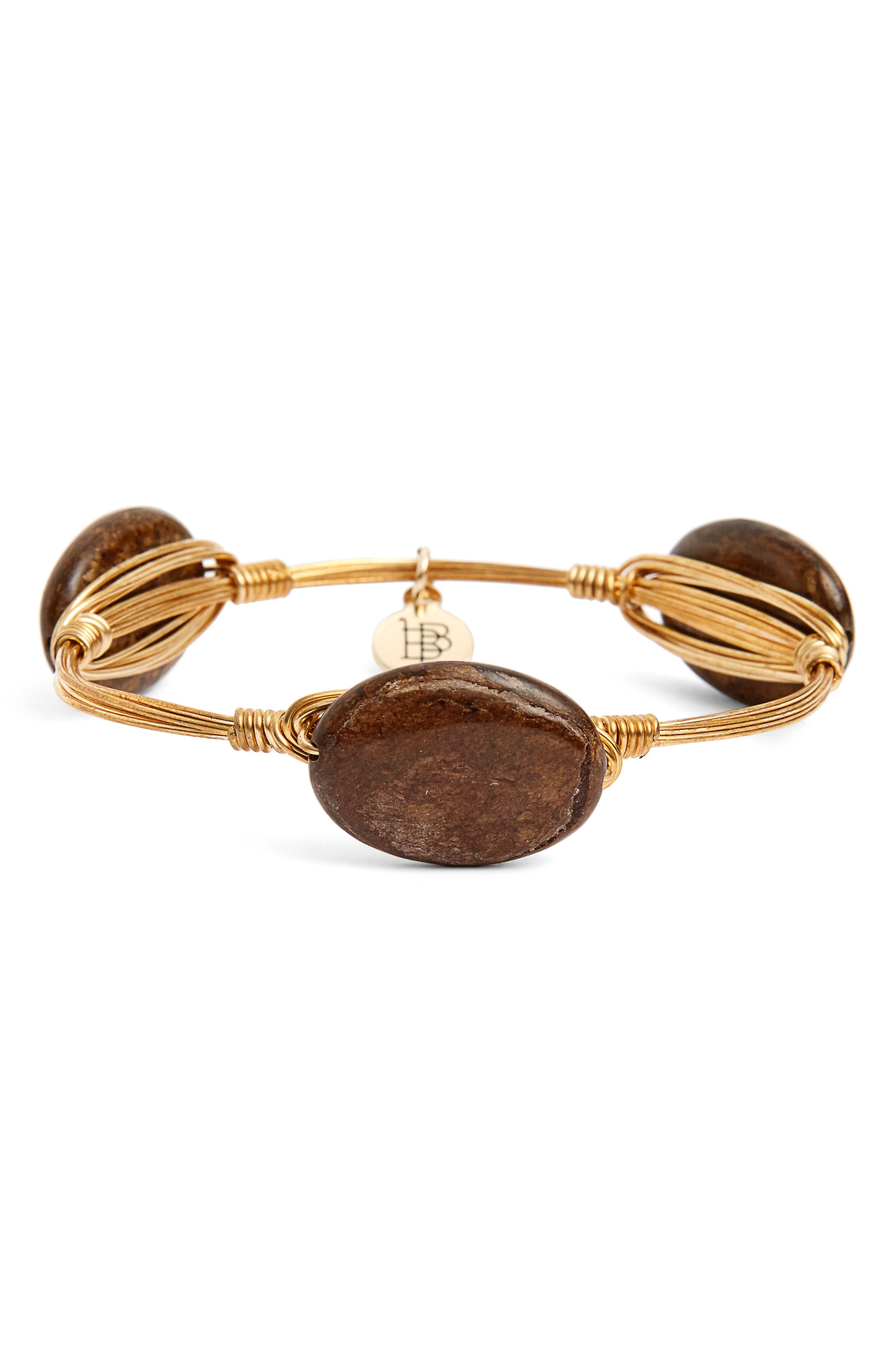 Alternate Image 2  - Bourbon and Boweties Extra Small Stone Bracelet