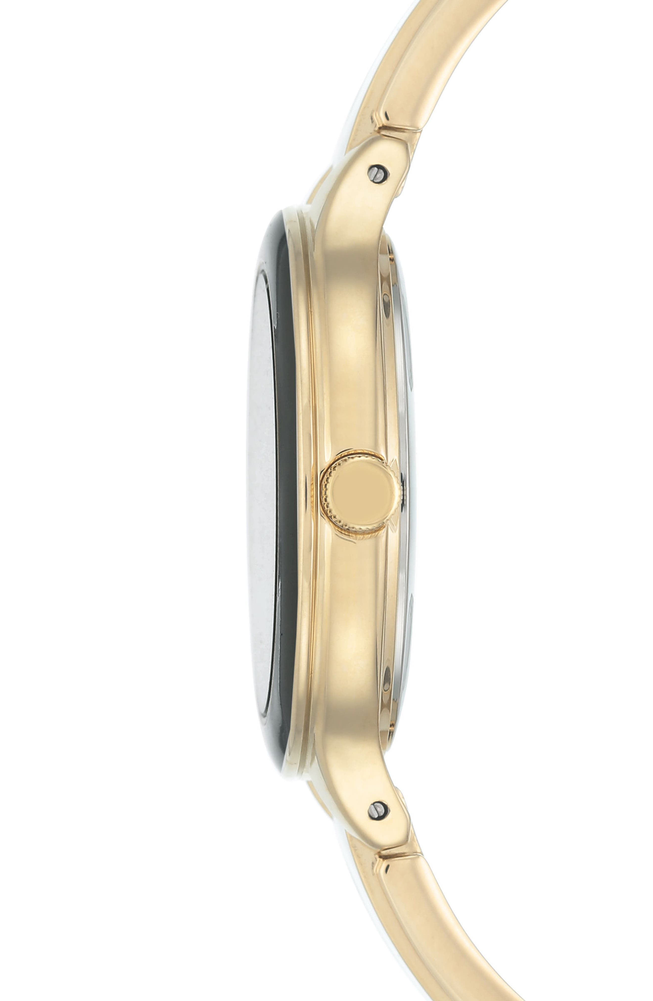 Alternate Image 3  - Anne Klein Enamel Bangle Watch, 32mm