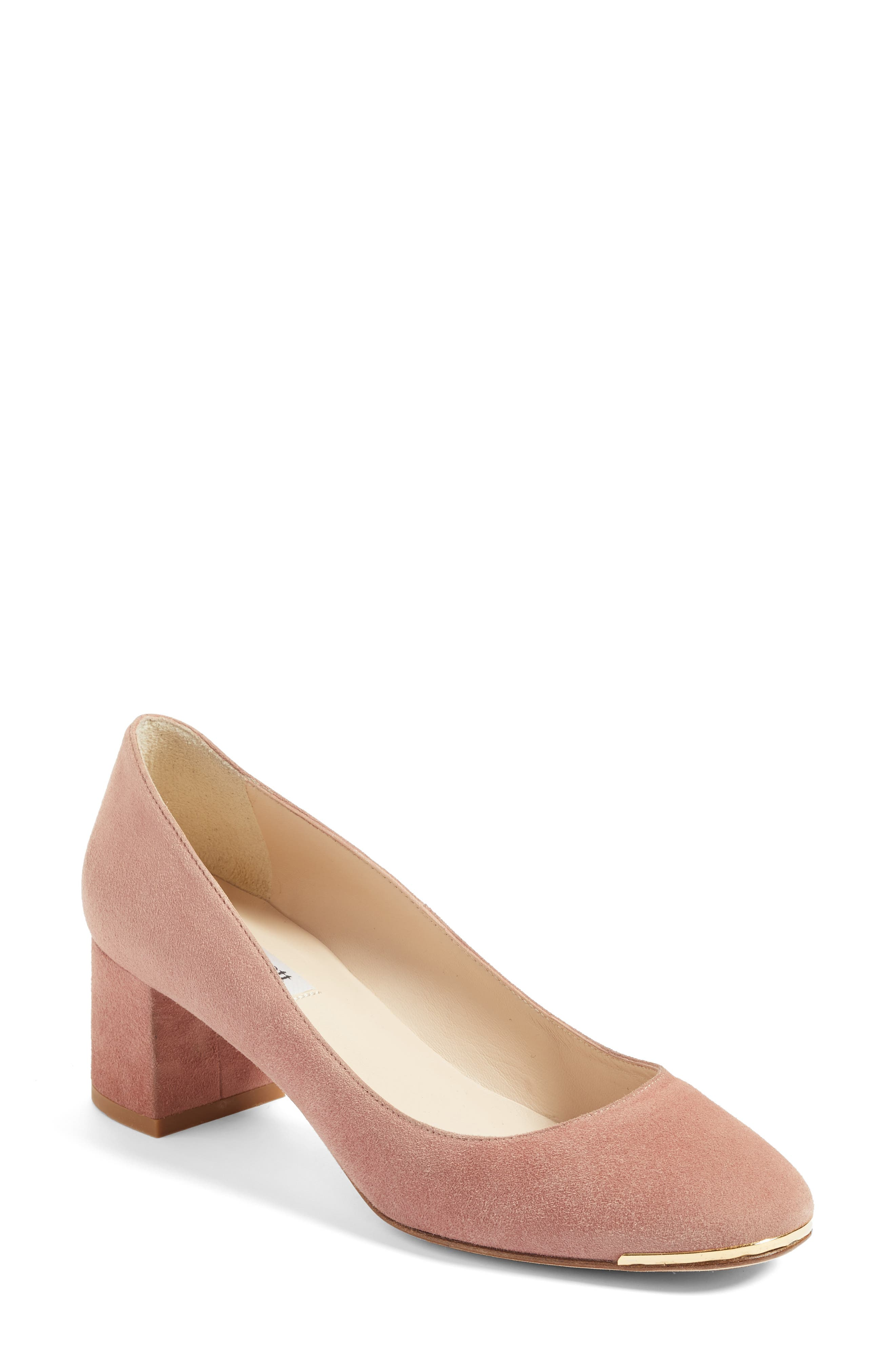 Clemence Pump,                             Main thumbnail 1, color,                             Pink/ Dark Pink