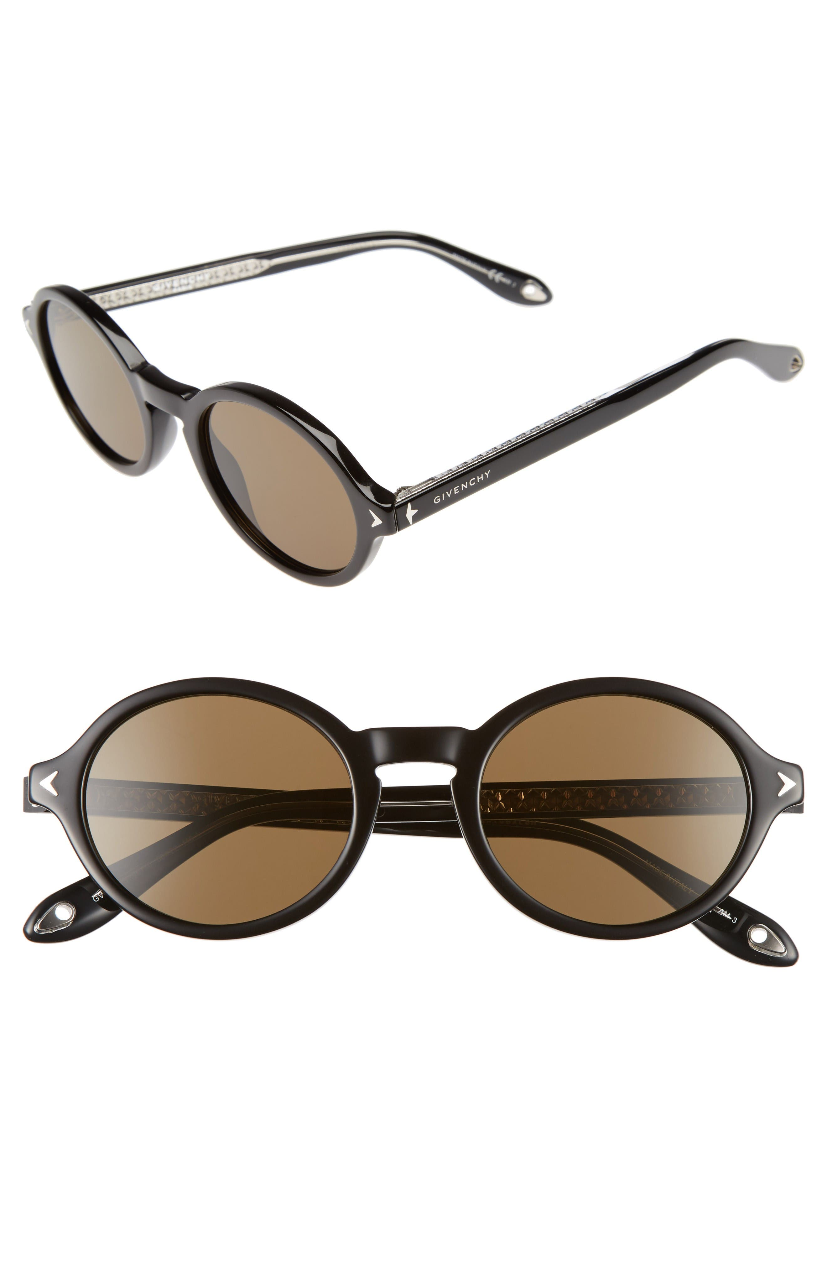 Alternate Image 1 Selected - Givenchy 50mm Round Sunglasses