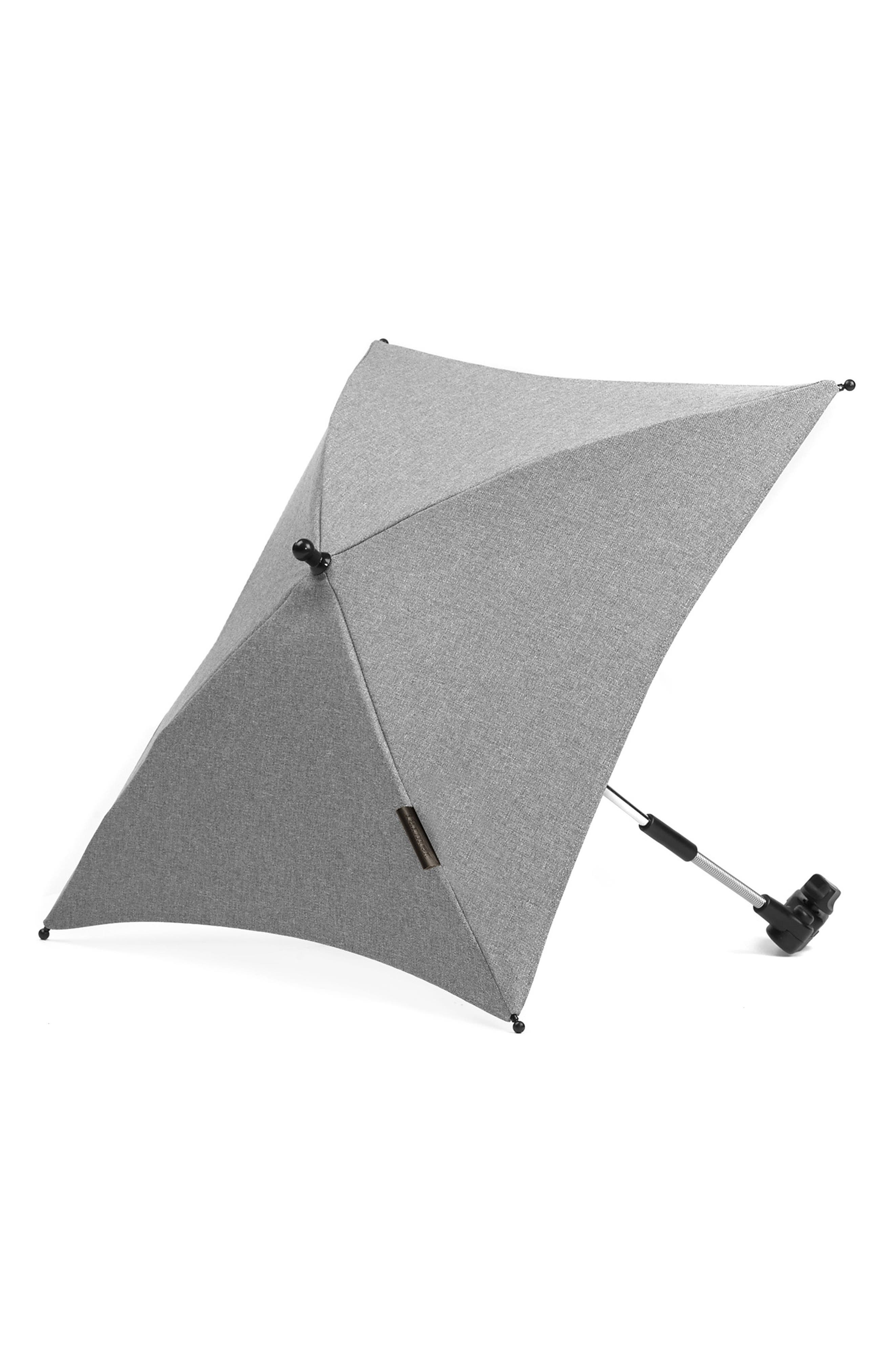Evo - Farmer Stroller Umbrella,                         Main,                         color, Light Grey